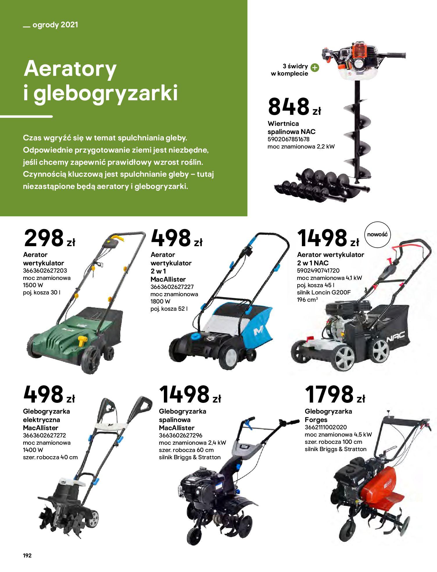 Gazetka Castorama: Katalog ogrody 2021-03-01 page-192