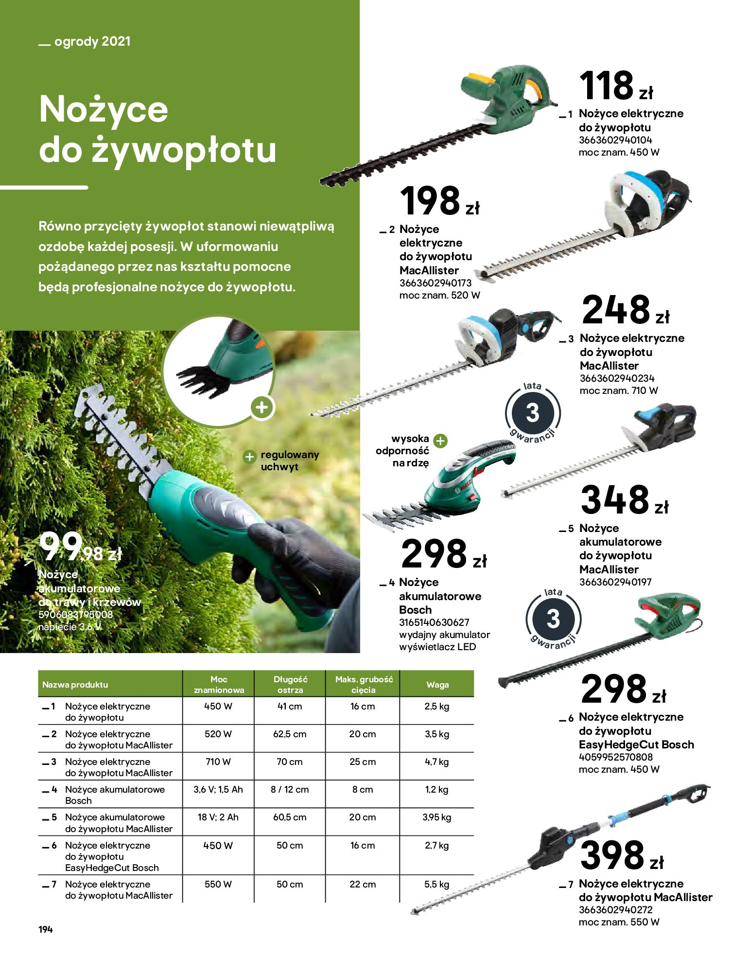 Gazetka Castorama: Katalog ogrody 2021-03-01 page-194