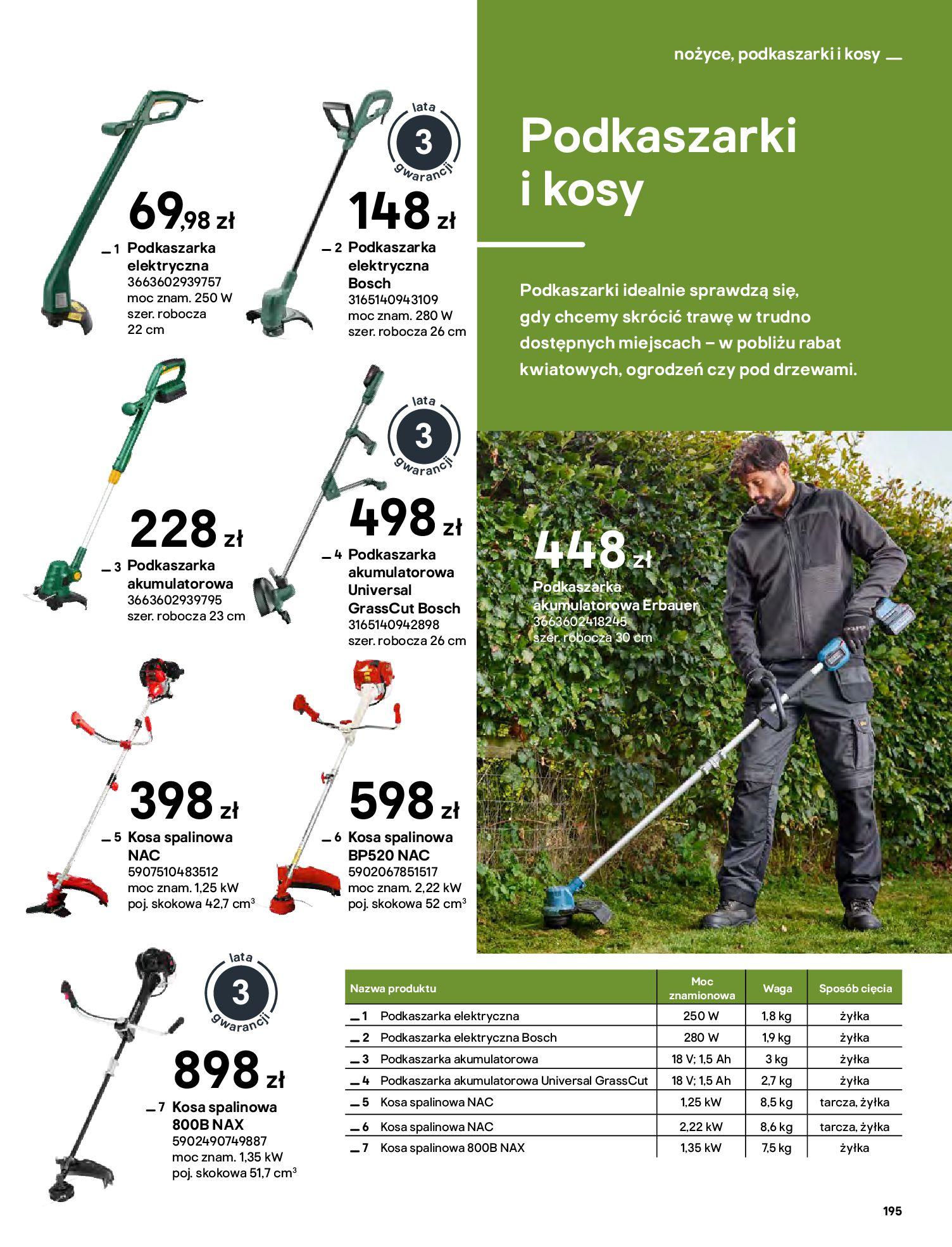 Gazetka Castorama: Katalog ogrody 2021-03-01 page-195