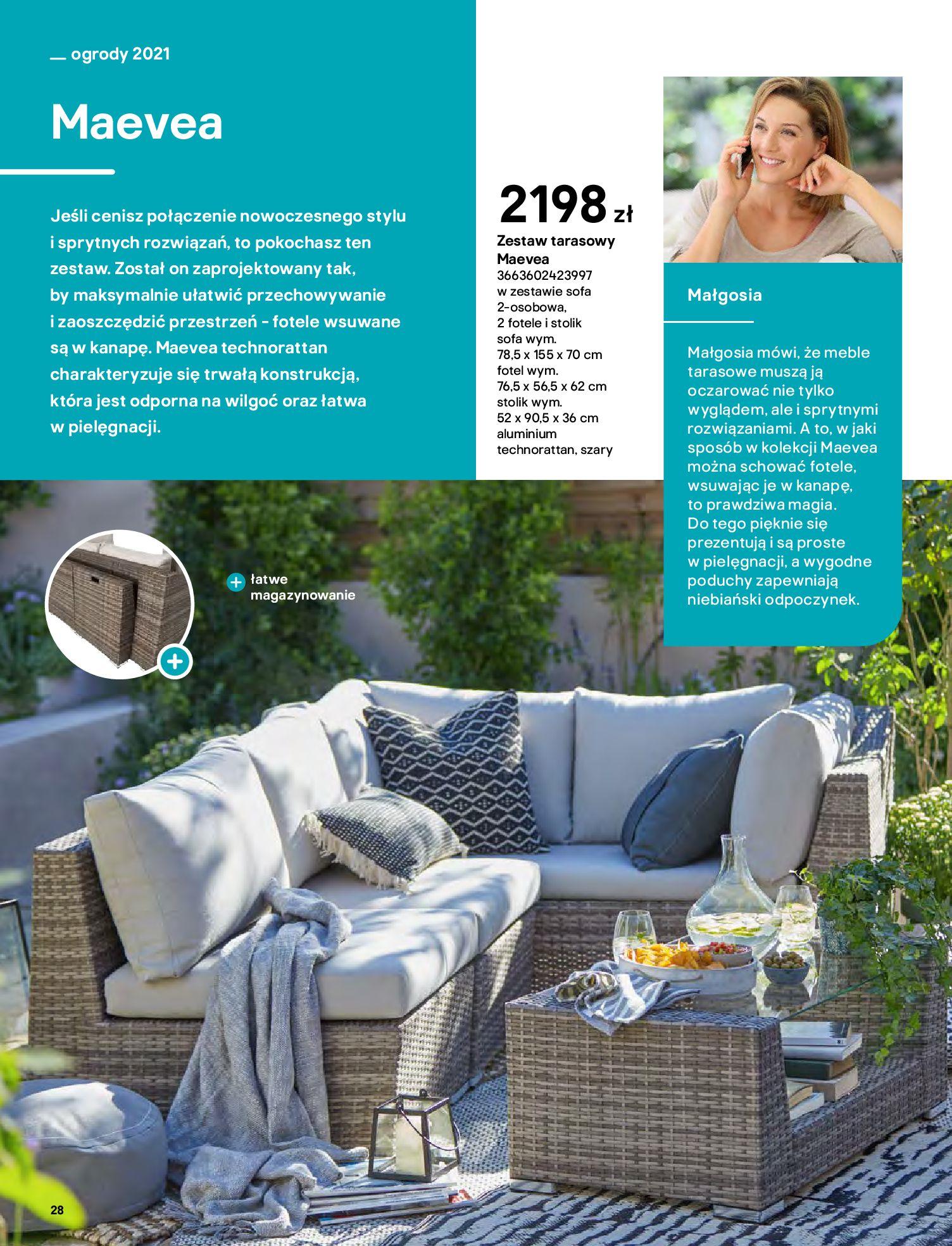 Gazetka Castorama: Katalog ogrody 2021-03-01 page-28
