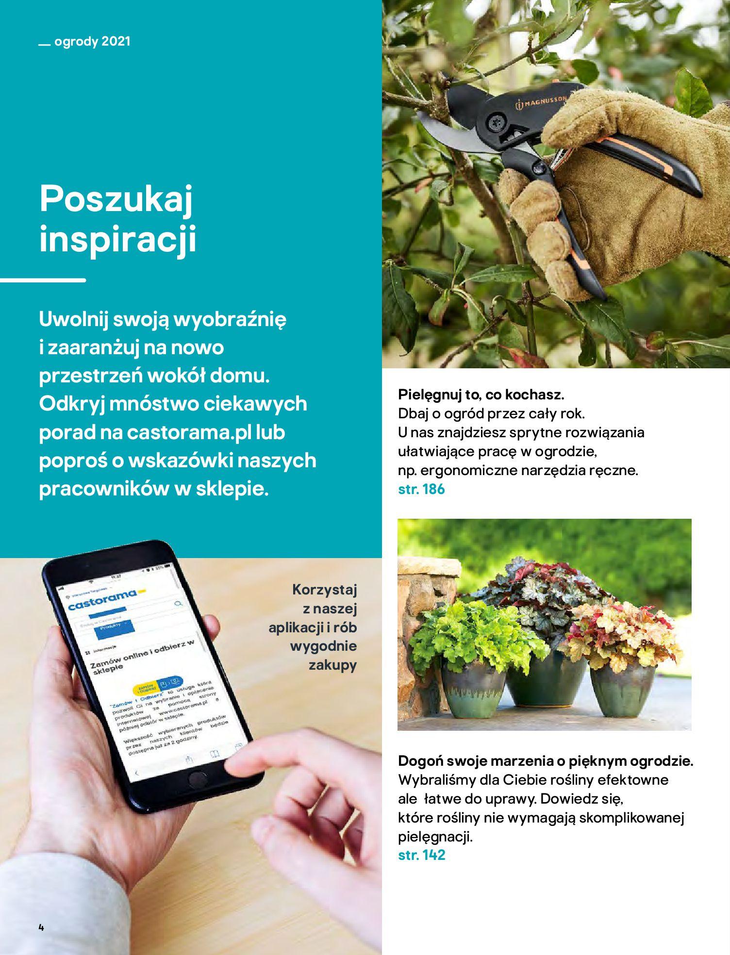 Gazetka Castorama: Katalog ogrody 2021-03-01 page-4
