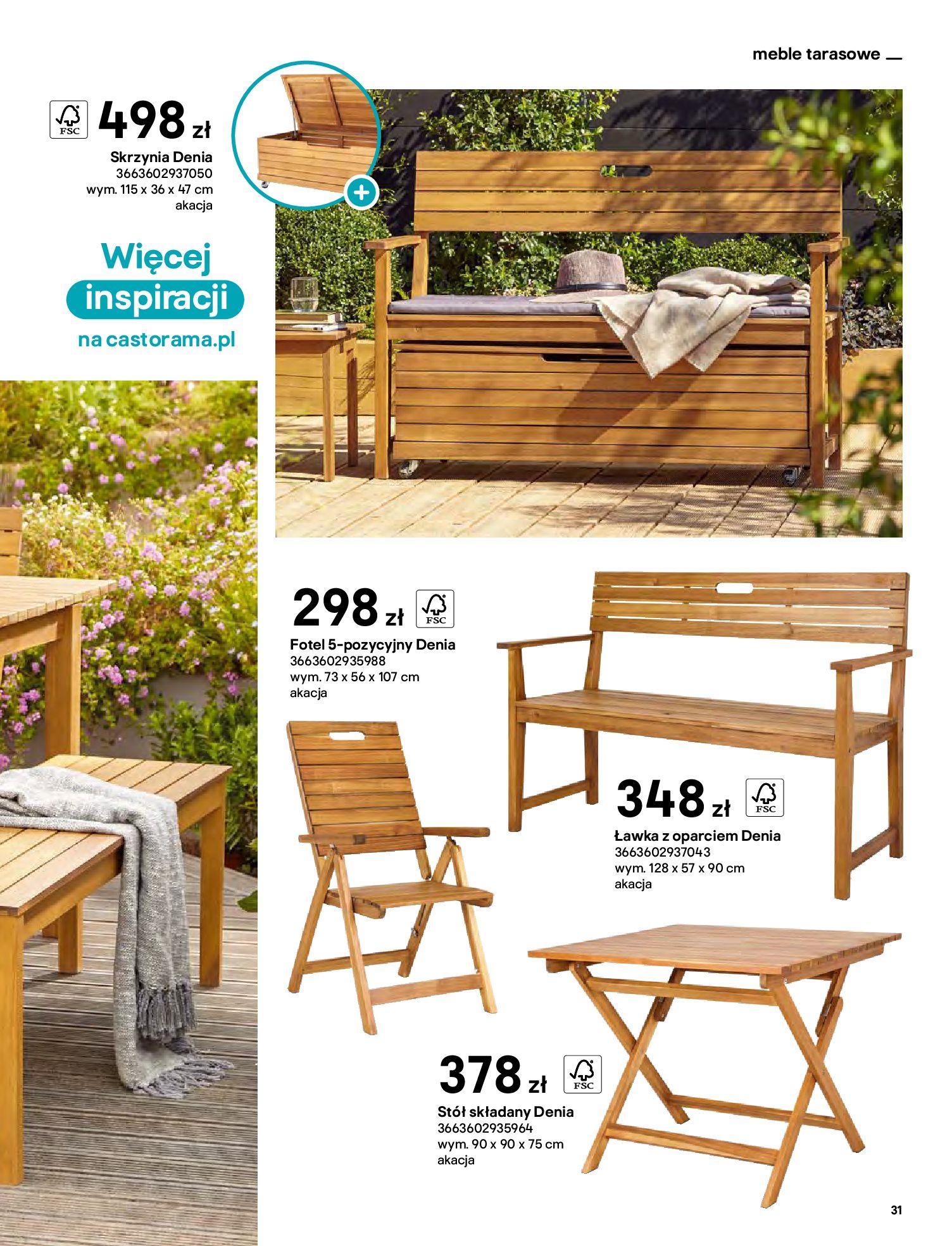 Gazetka Castorama: Katalog ogrody 2021-03-01 page-31