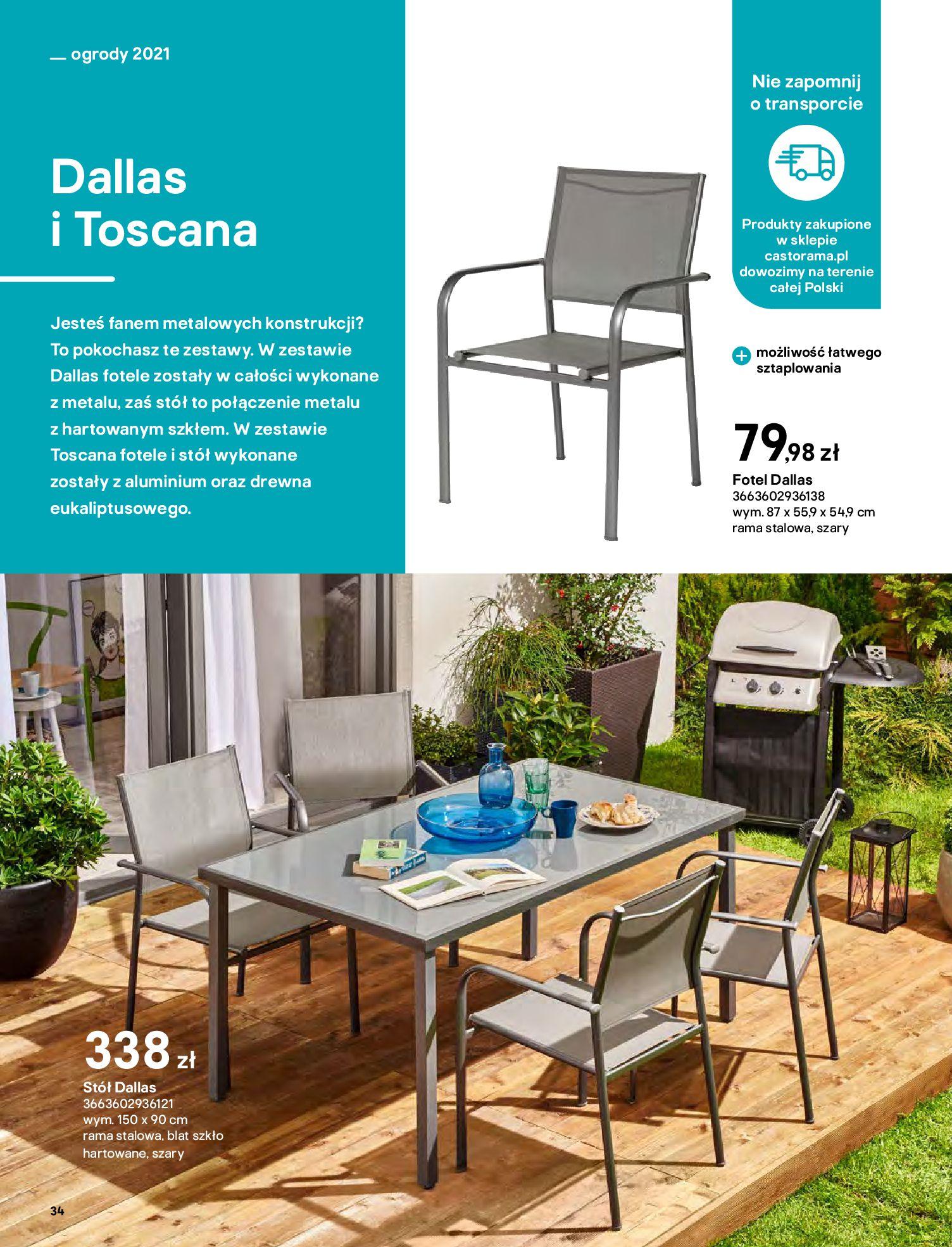 Gazetka Castorama: Katalog ogrody 2021-03-01 page-34