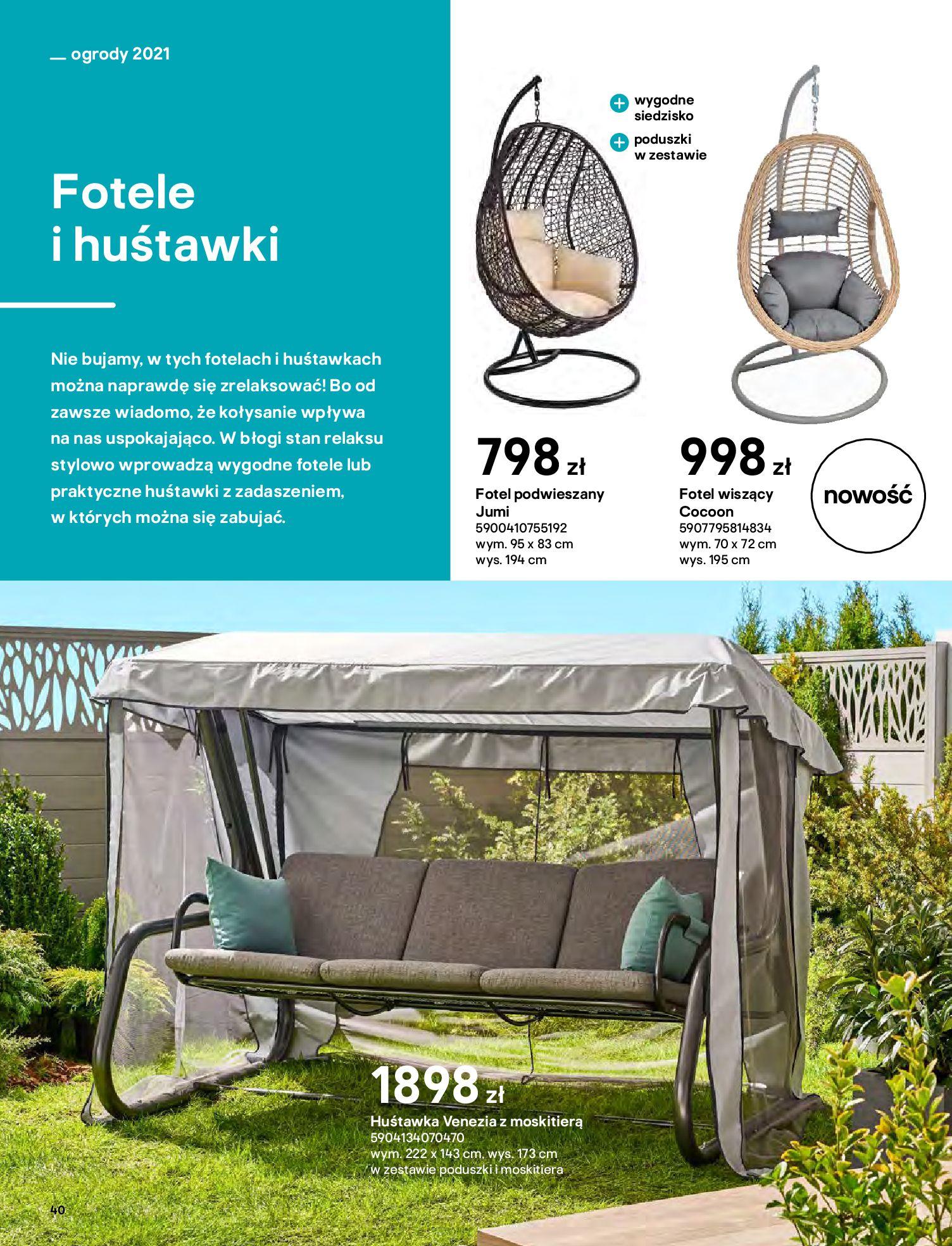 Gazetka Castorama: Katalog ogrody 2021-03-01 page-40