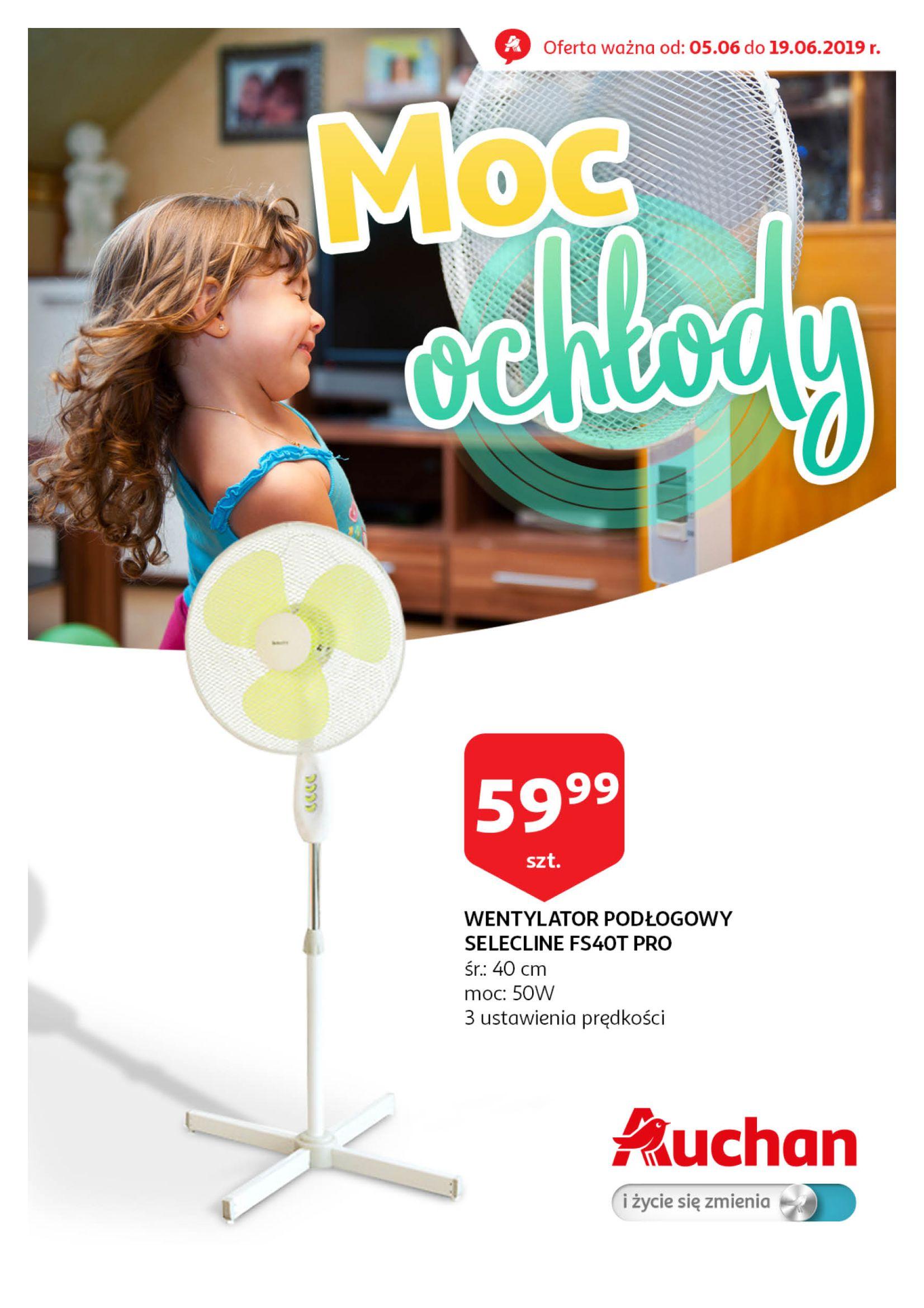 Gazetka Auchan - Wentylatory Hipermarkety-04.06.2019-19.06.2019-page-