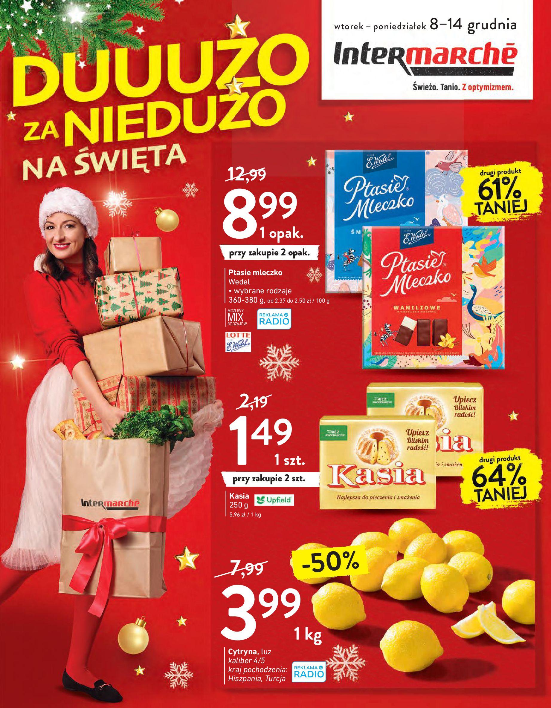 Intermarché:  Gazetka promocyjna od 08.12 07.12.2020