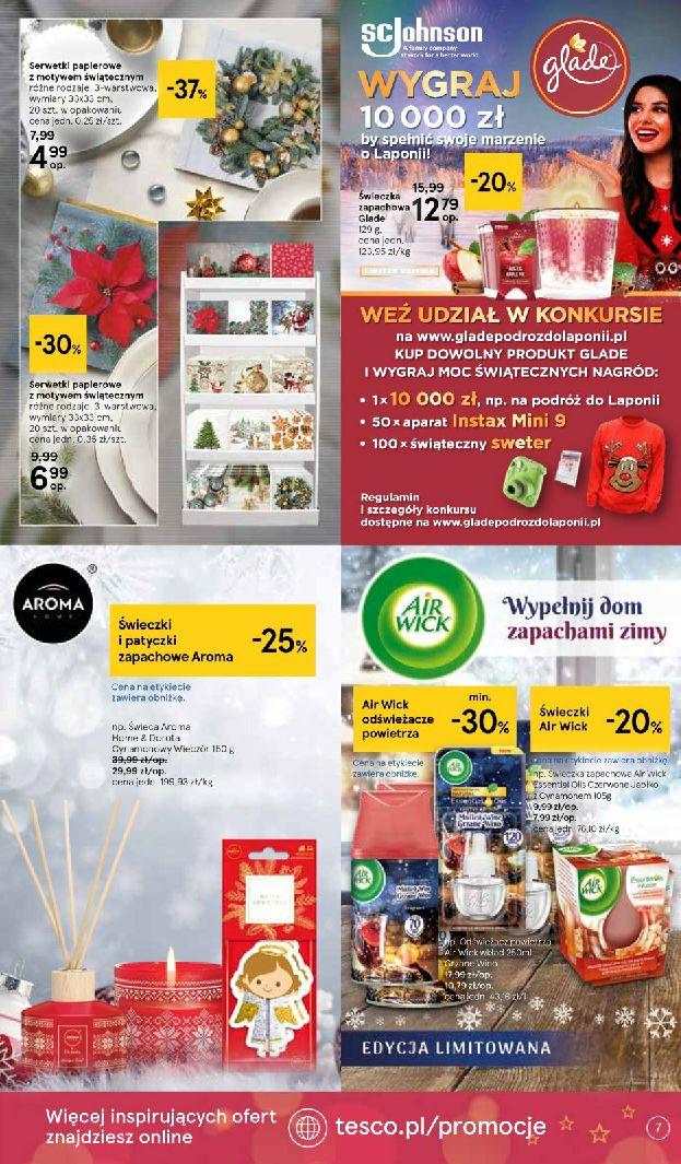 Gazetka Tesco: Święta jak lubisz 2020-11-18 page-7