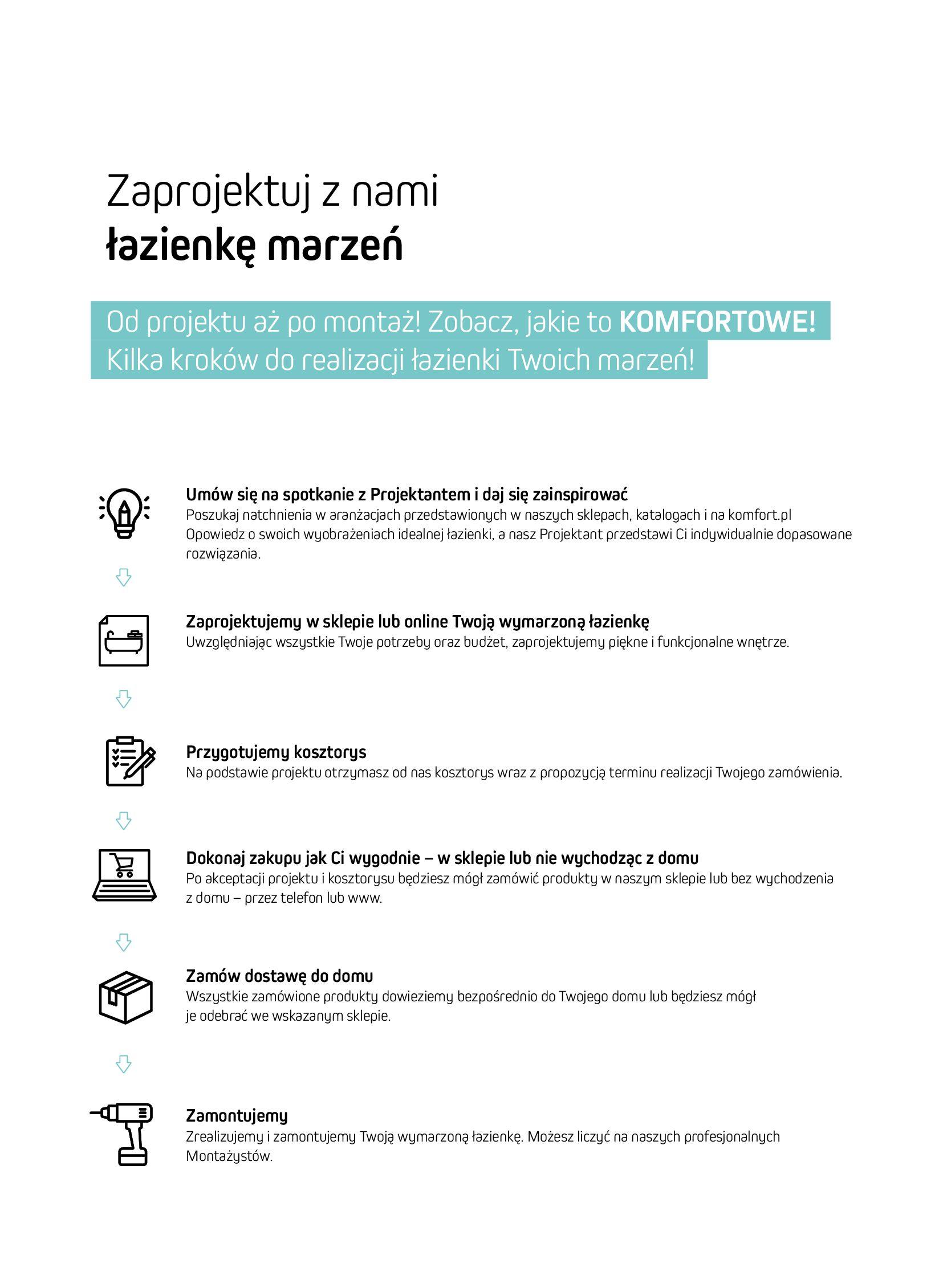 Gazetka Komfort: Gazetka Komfort - Łazienki 2021 2021-05-21 page-5