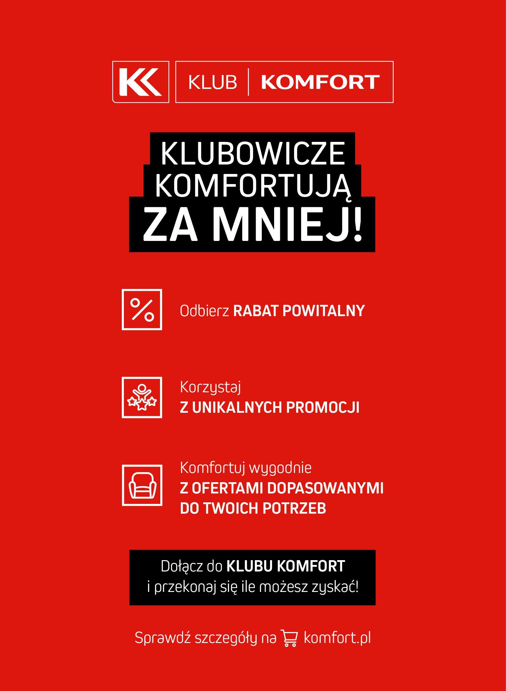 Gazetka Komfort: Gazetka Komfort - Łazienki 2021 2021-05-21 page-59