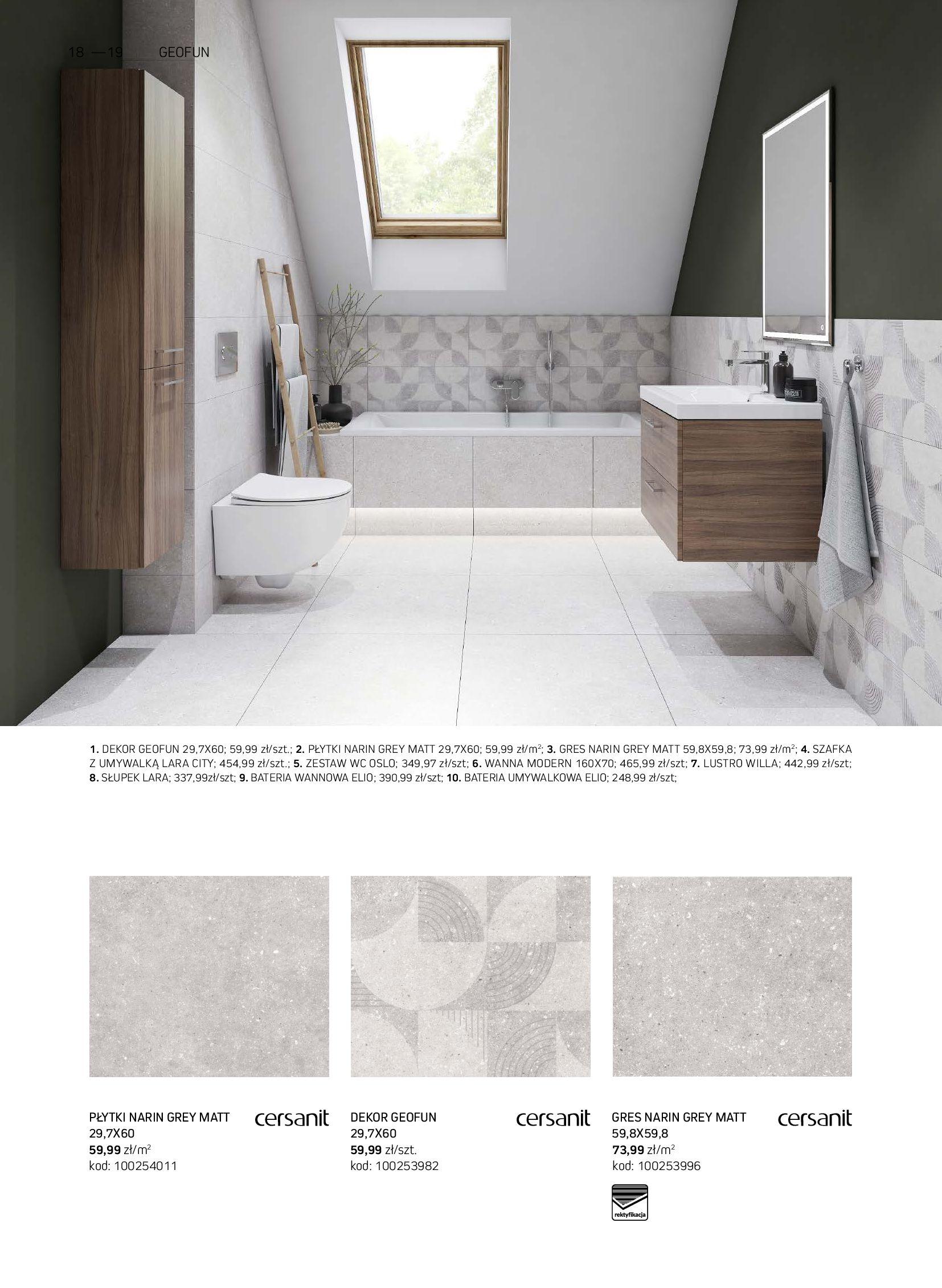 Gazetka Komfort: Gazetka Komfort - Łazienki 2021 2021-05-21 page-18