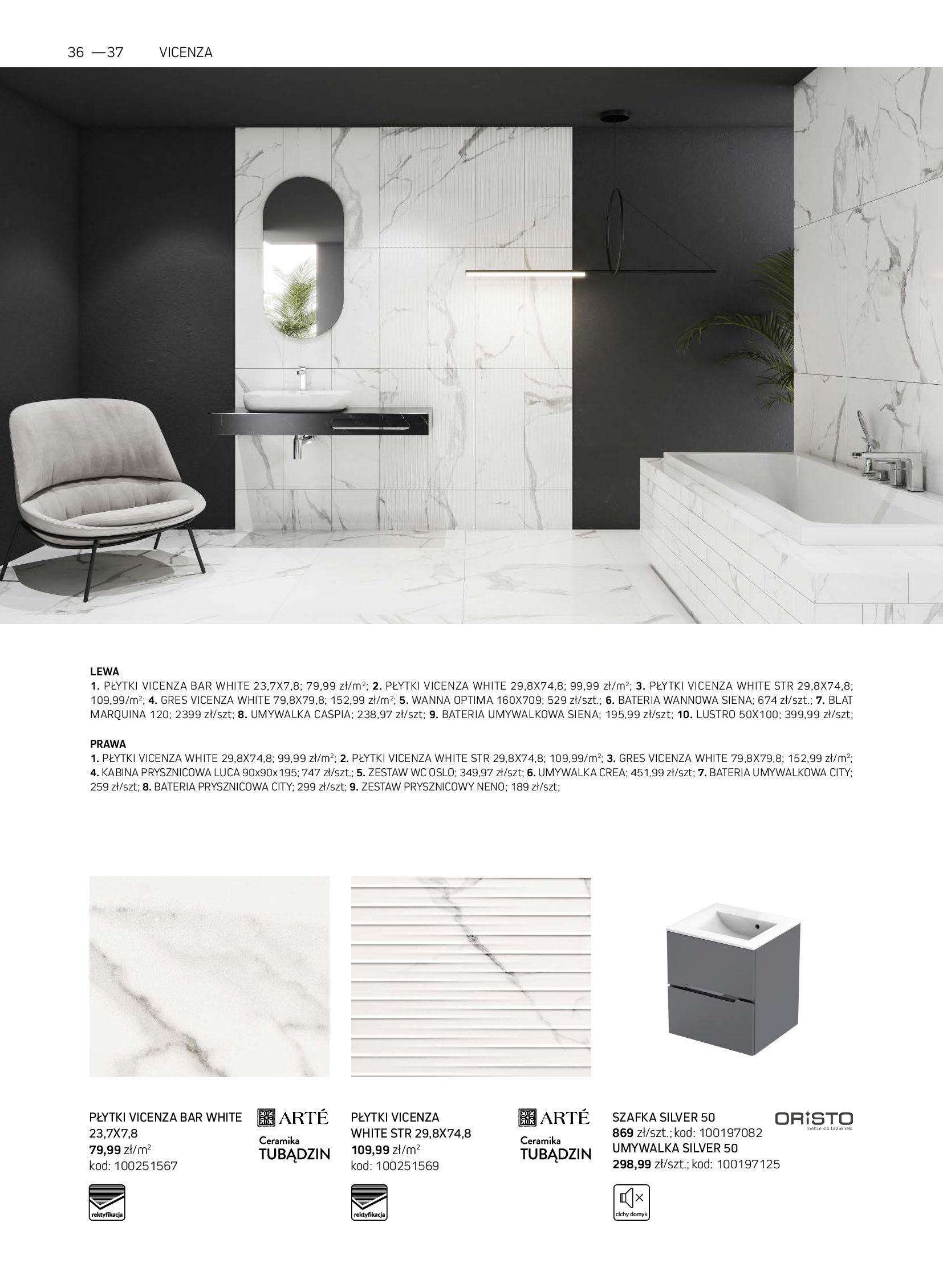 Gazetka Komfort: Gazetka Komfort - Łazienki 2021 2021-05-21 page-36