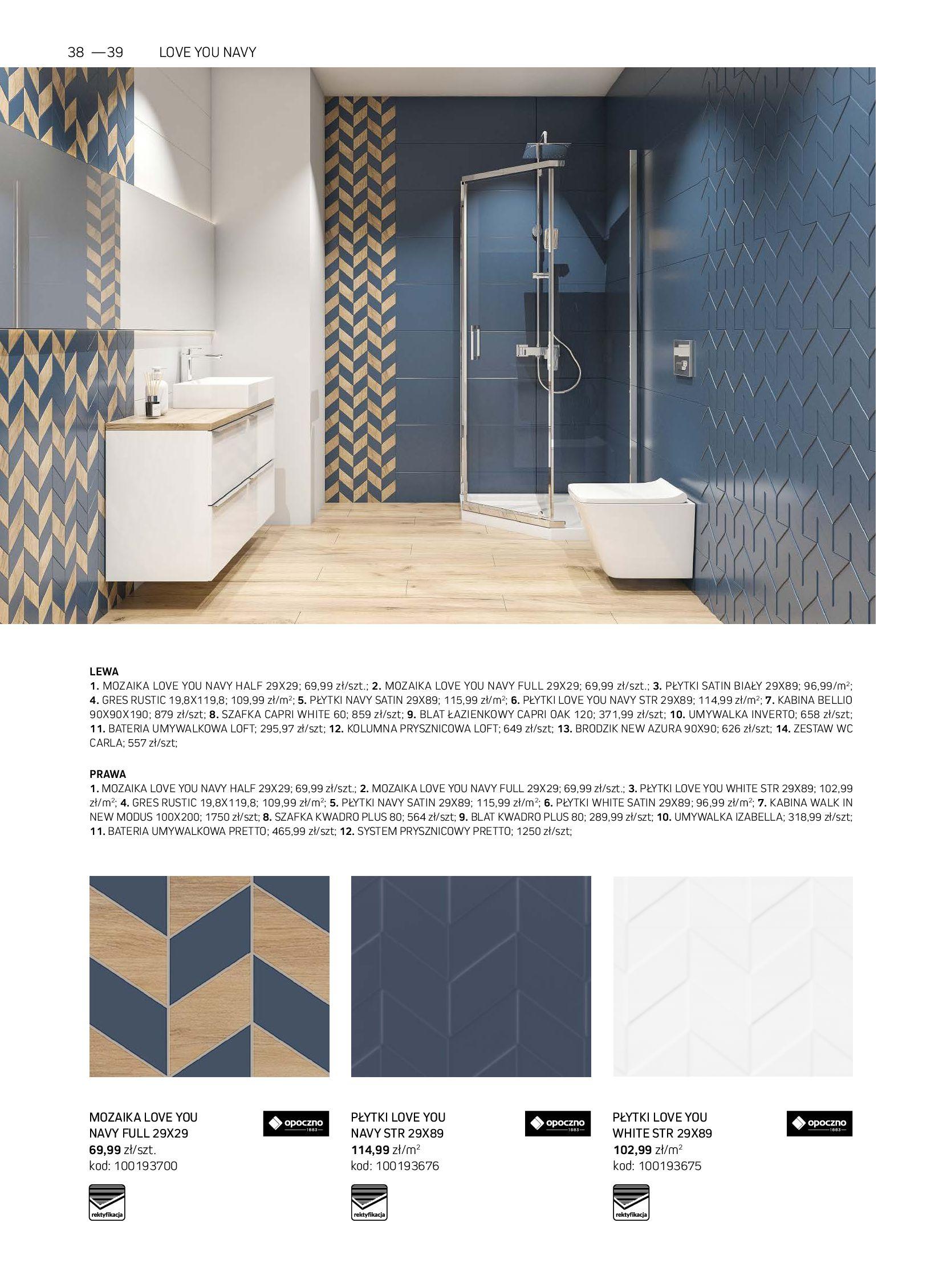 Gazetka Komfort: Gazetka Komfort - Łazienki 2021 2021-05-21 page-38