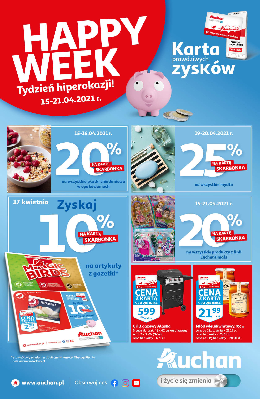Auchan:  Skarbonka 14.04.2021