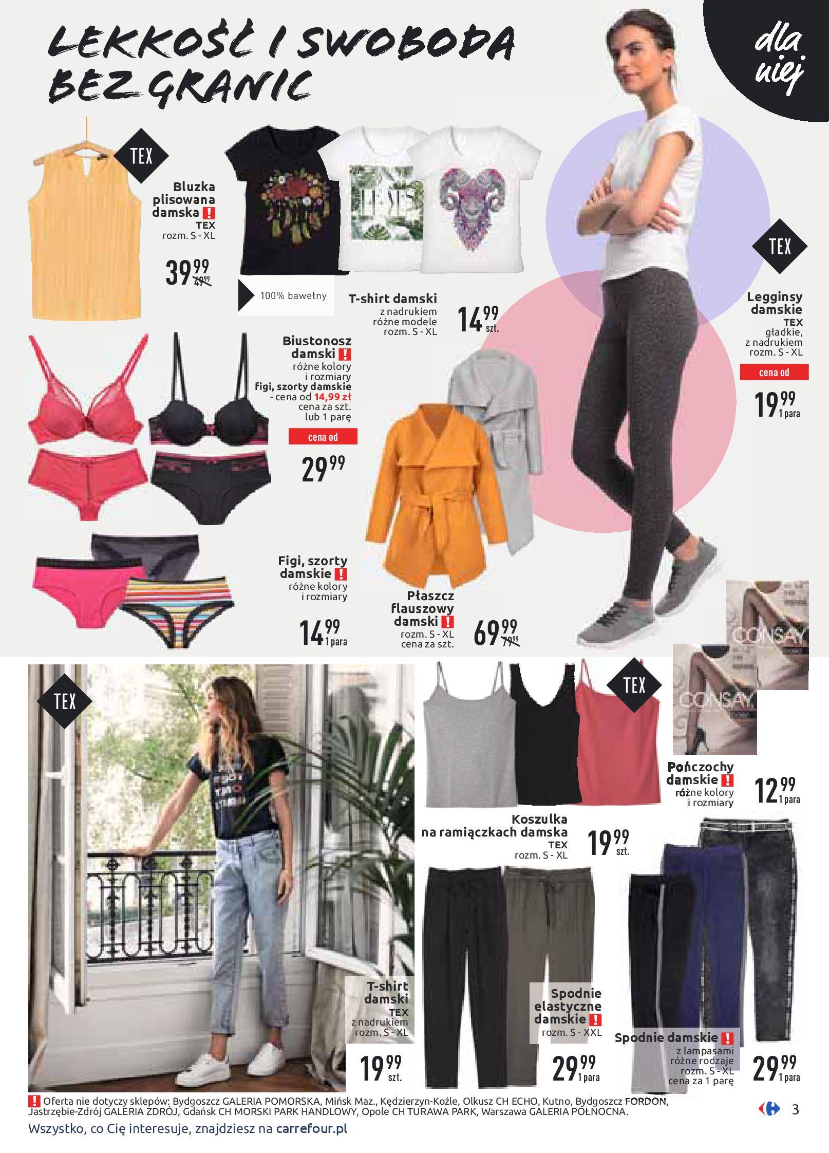 Gazetka Carrefour - Wiosenne stylizacje-16.03.2020-28.03.2020-page-3