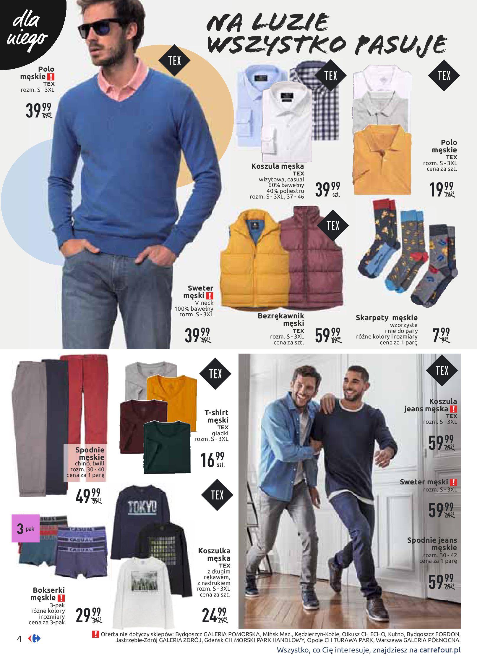 Gazetka Carrefour - Wiosenne stylizacje-16.03.2020-28.03.2020-page-4