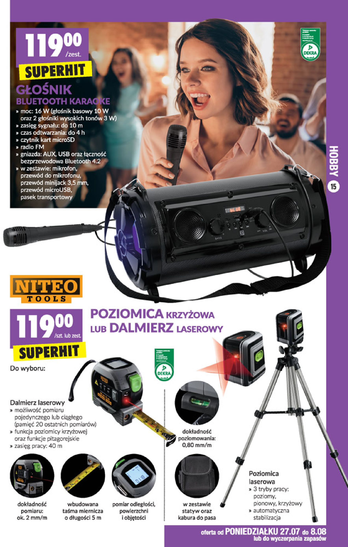 Gazetka Biedronka - Okazje tygodnia-26.07.2020-12.08.2020-page-15