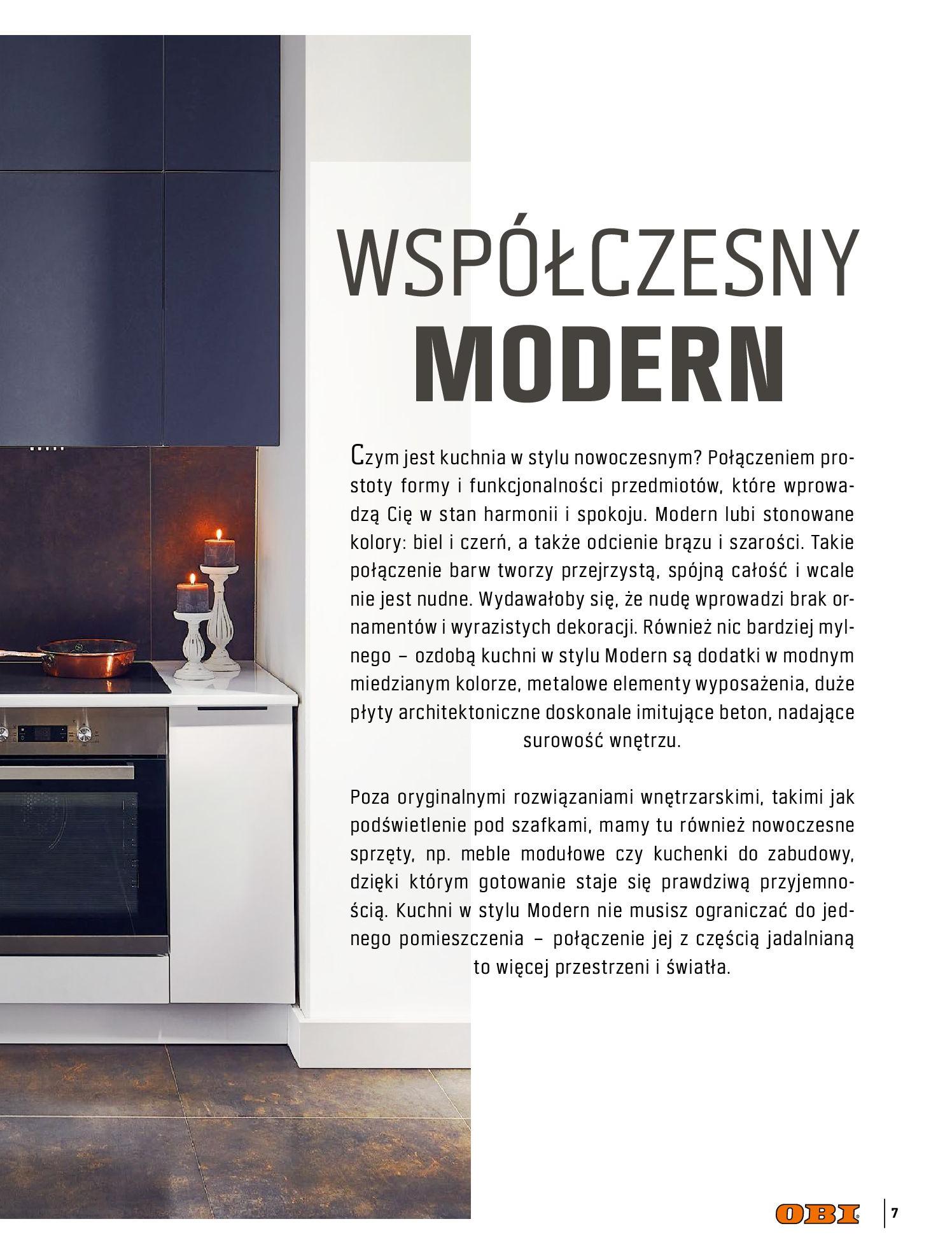 Gazetka OBI: Katalog OBI Kuchnia 2021-05-25 page-7