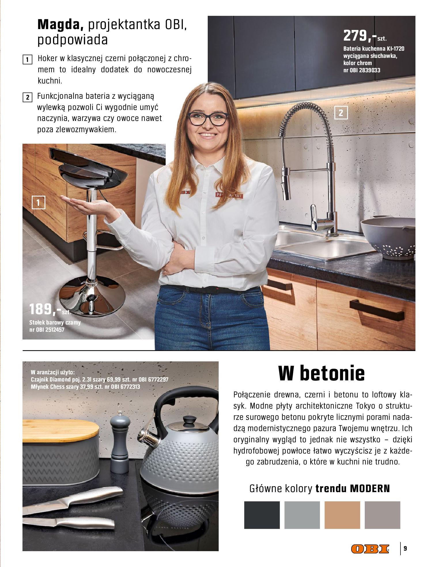 Gazetka OBI: Katalog OBI Kuchnia 2021-05-25 page-9