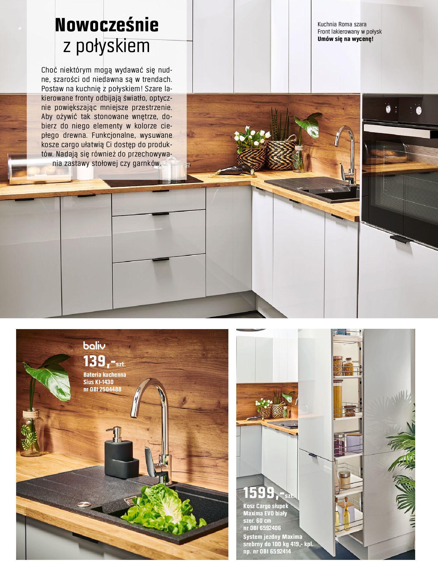Gazetka OBI: Katalog OBI Kuchnia 2021-05-25 page-10