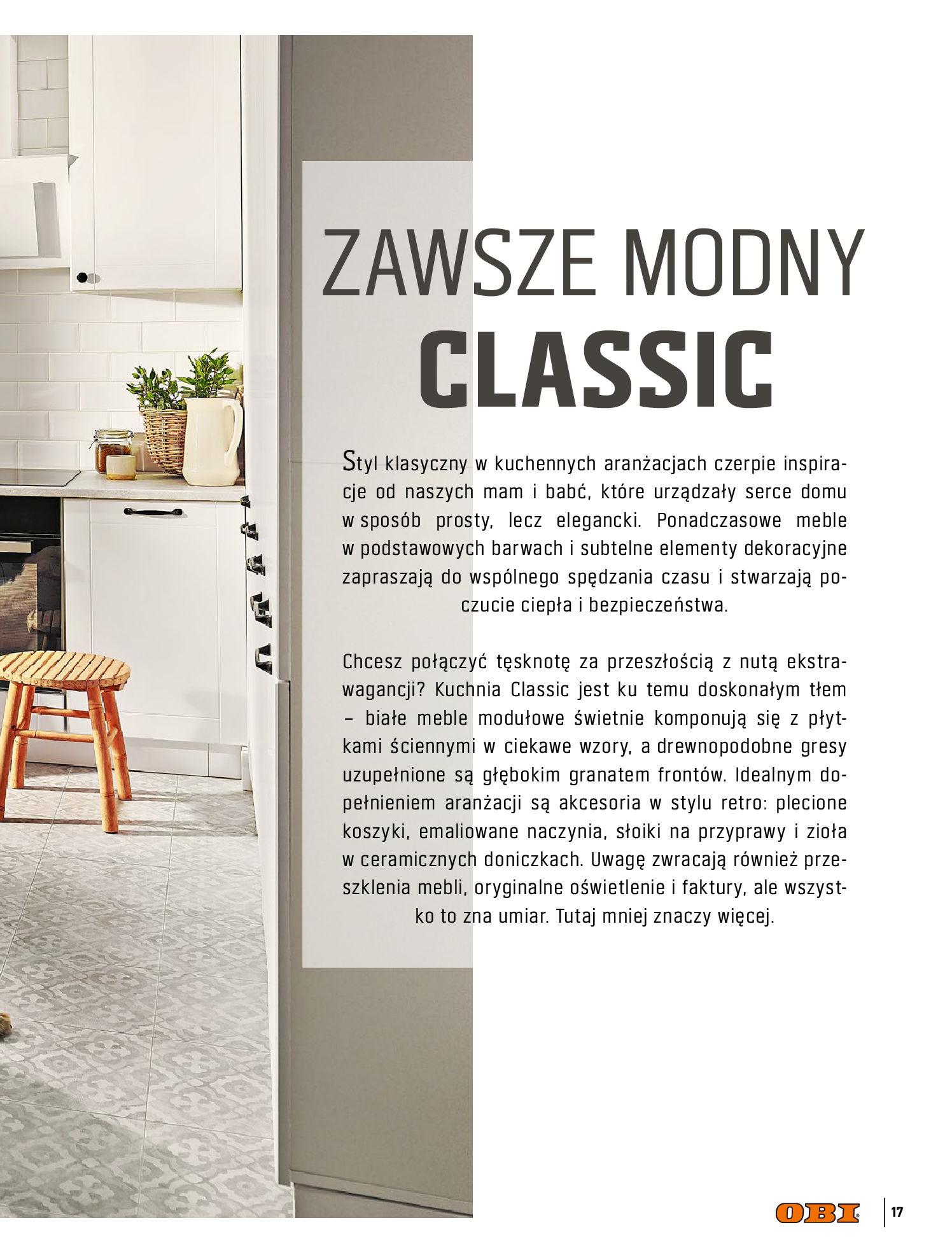 Gazetka OBI: Katalog OBI Kuchnia 2021-05-25 page-17