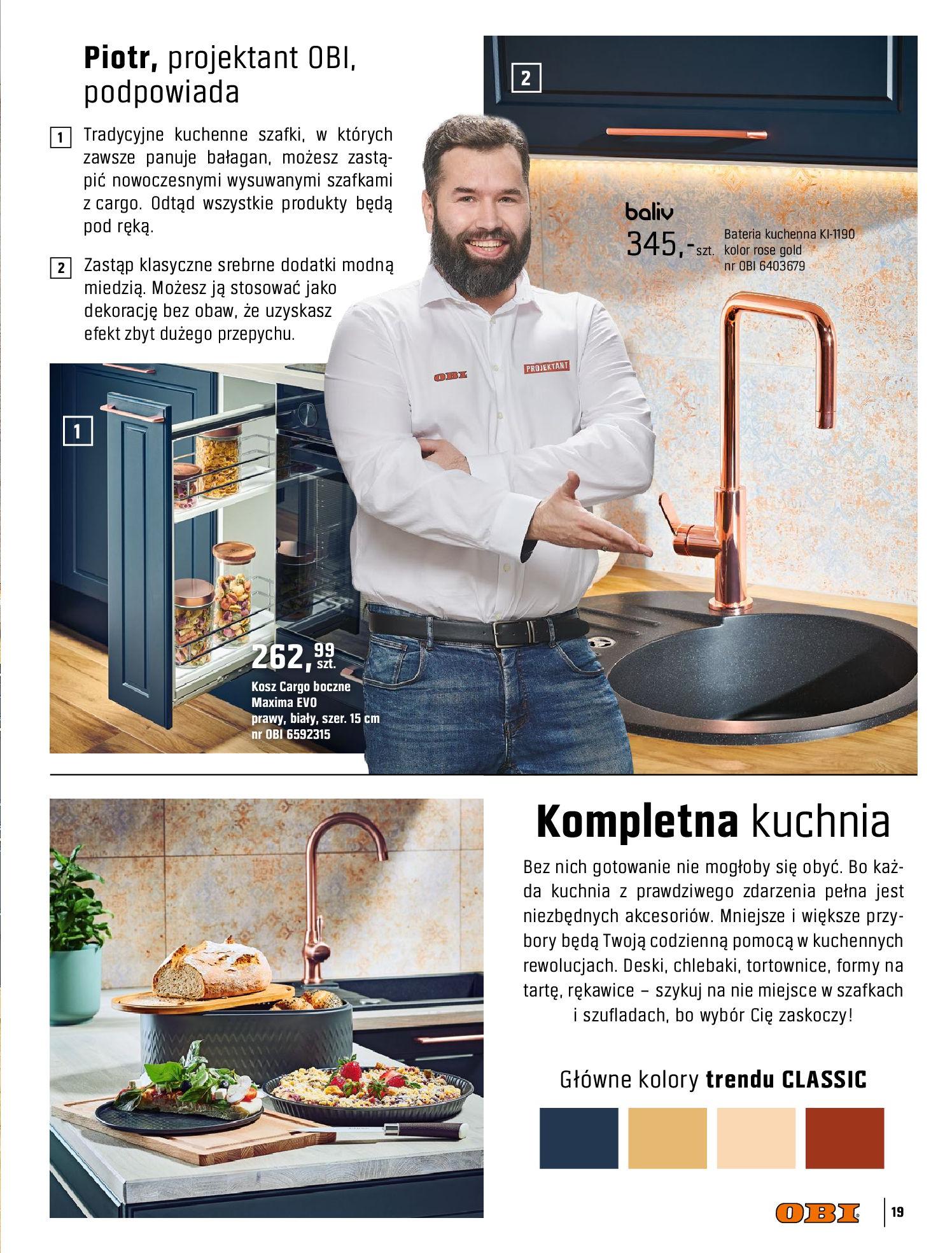 Gazetka OBI: Katalog OBI Kuchnia 2021-05-25 page-19