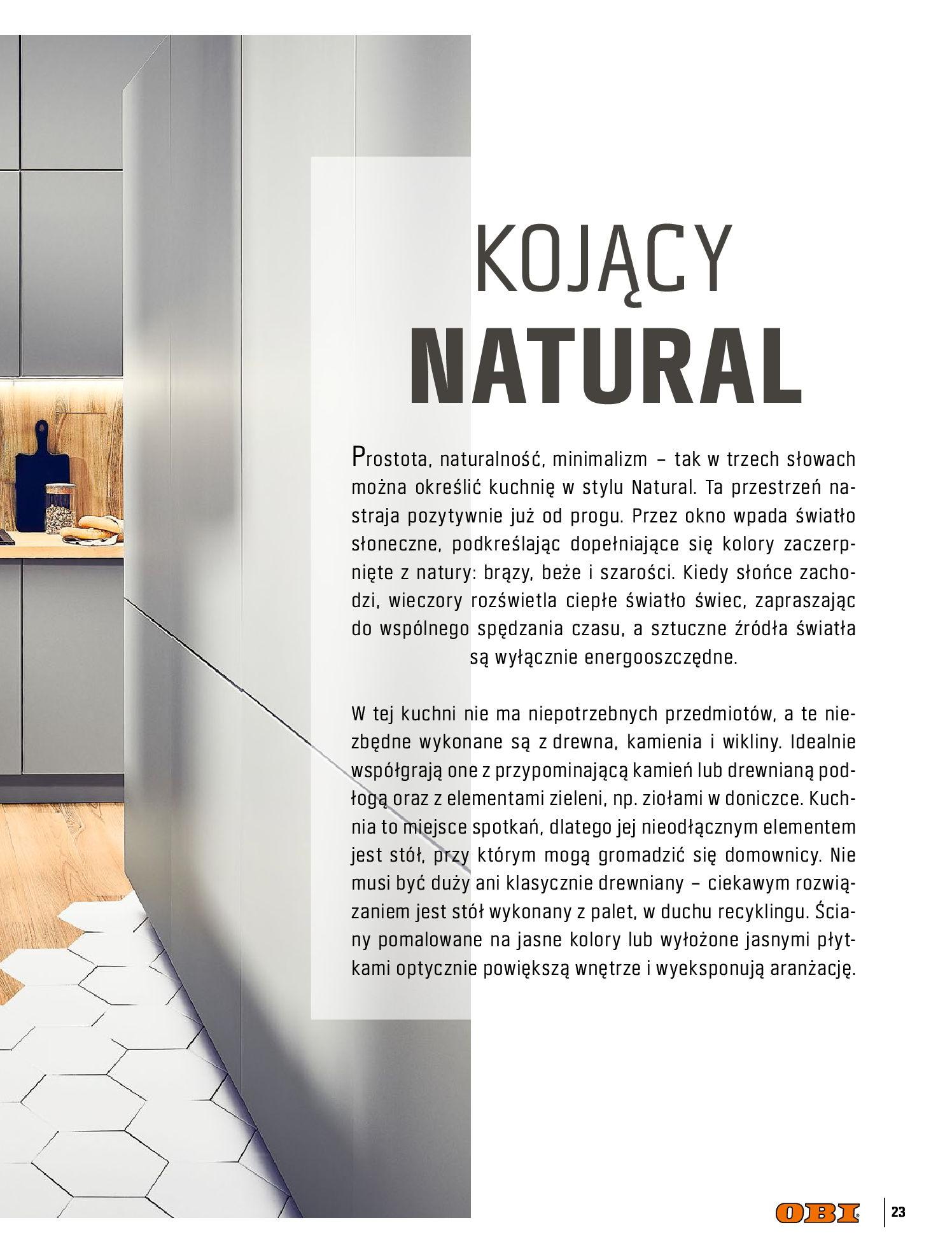 Gazetka OBI: Katalog OBI Kuchnia 2021-05-25 page-23