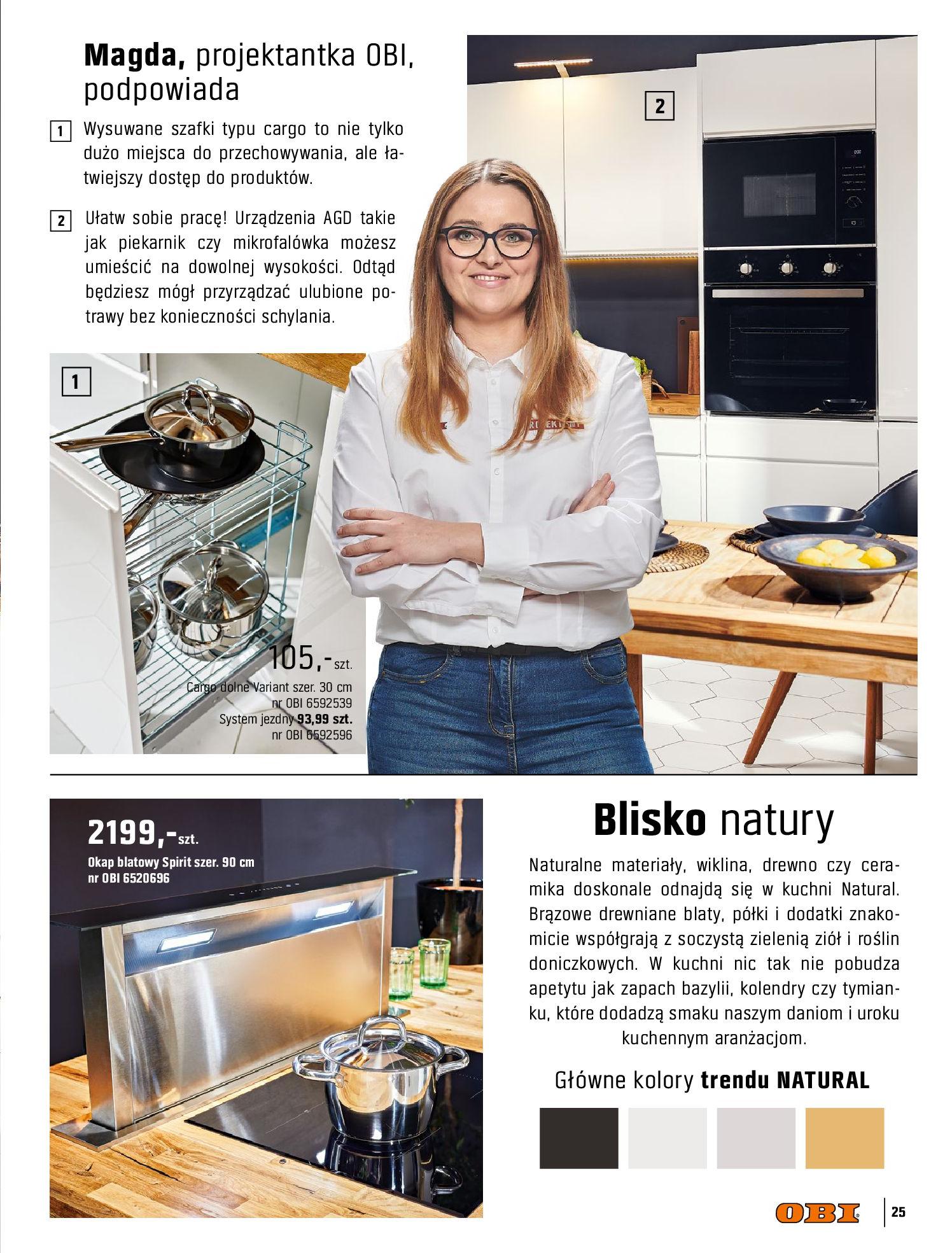 Gazetka OBI: Katalog OBI Kuchnia 2021-05-25 page-25