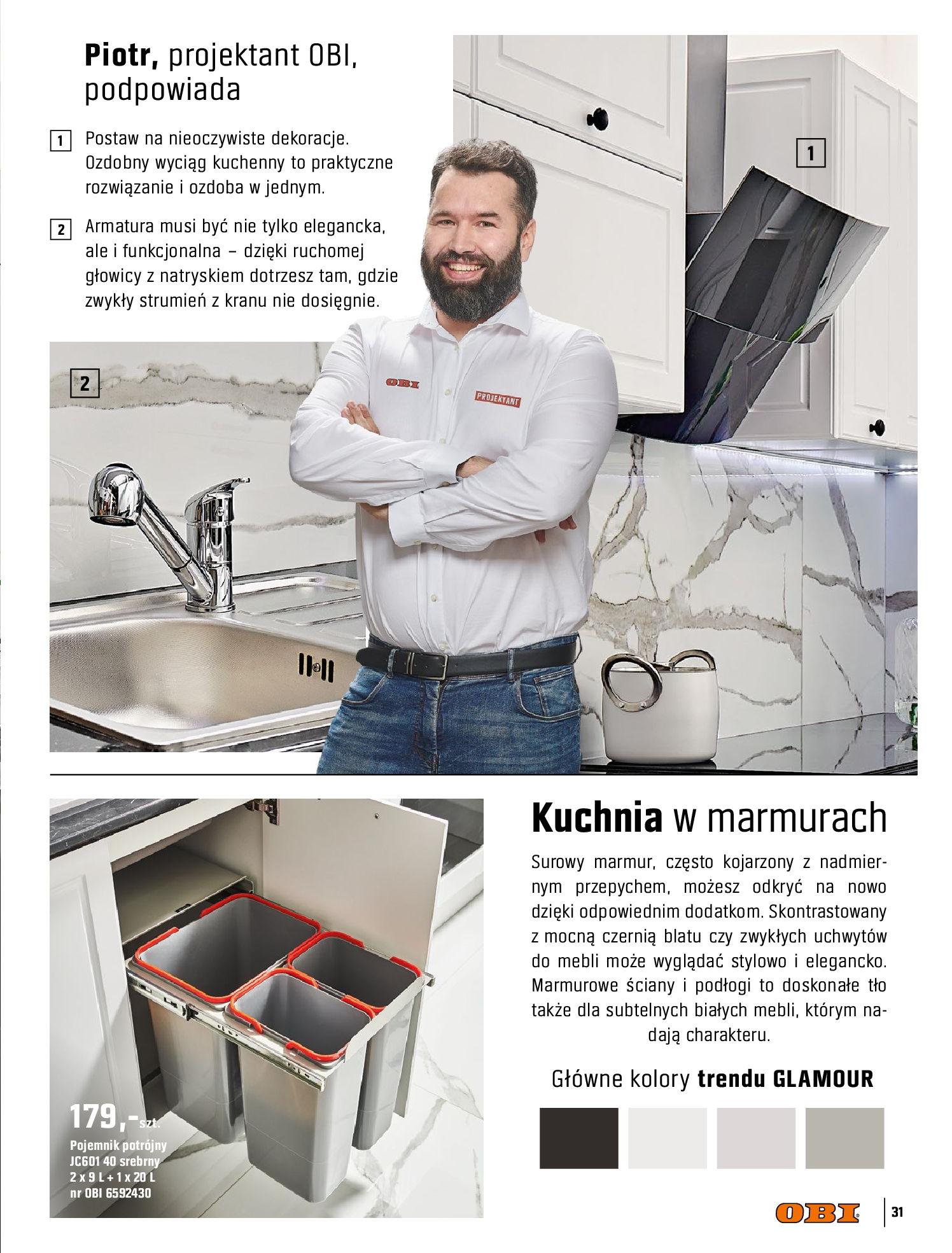 Gazetka OBI: Katalog OBI Kuchnia 2021-05-25 page-31