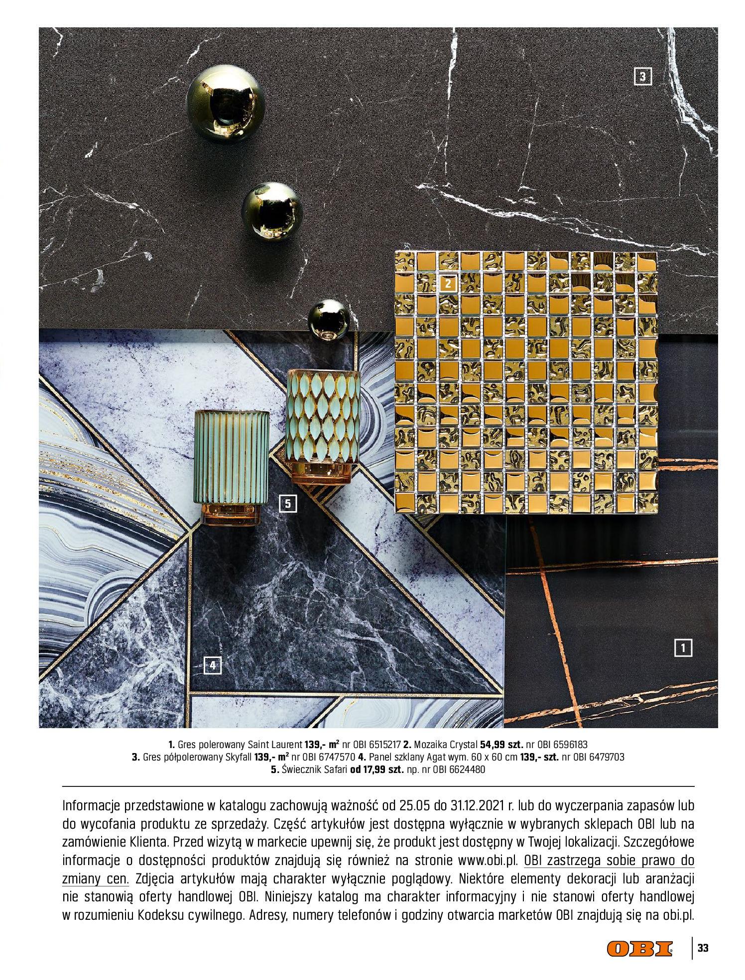 Gazetka OBI: Katalog OBI Kuchnia 2021-05-25 page-33