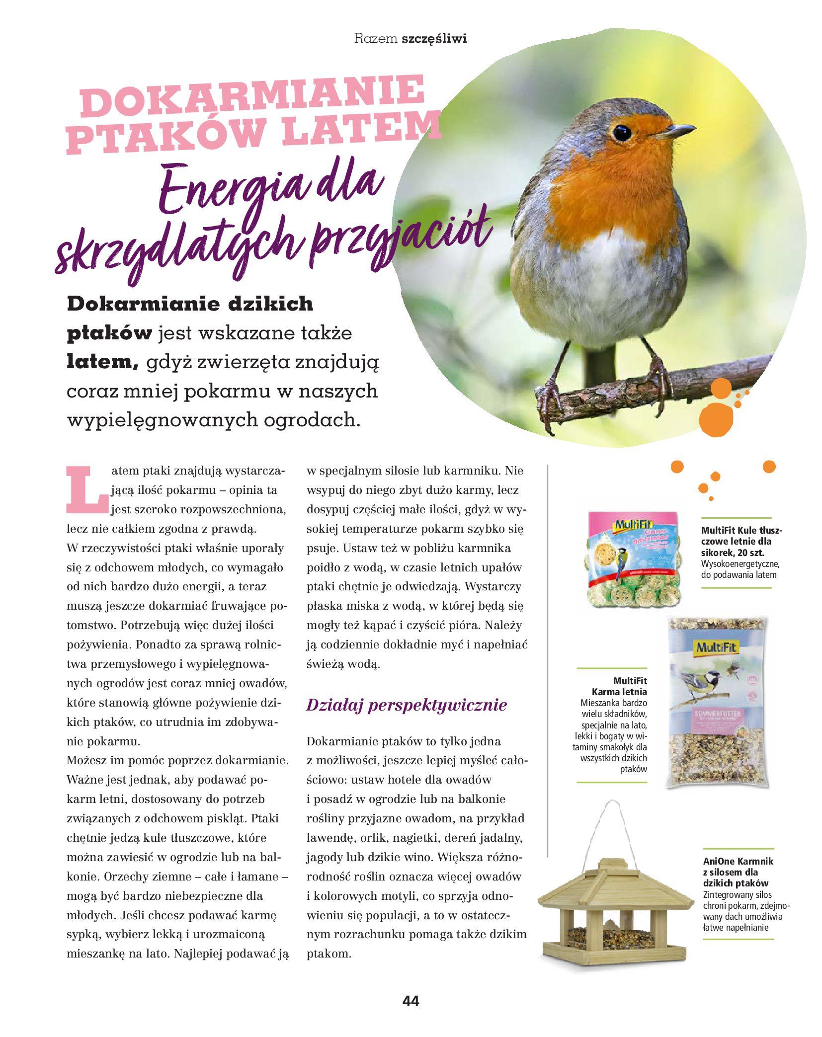Gazetka Maxi Zoo: Gazetka Maxi Zoo - Friends 2021-05-18 page-44