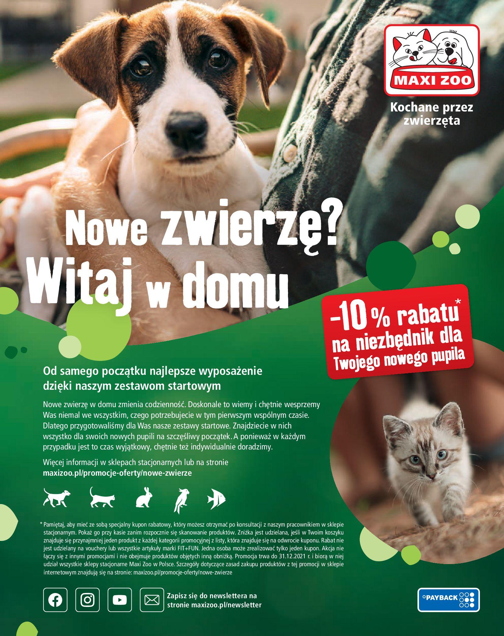 Gazetka Maxi Zoo: Gazetka Maxi Zoo - Friends 2021-05-18 page-56