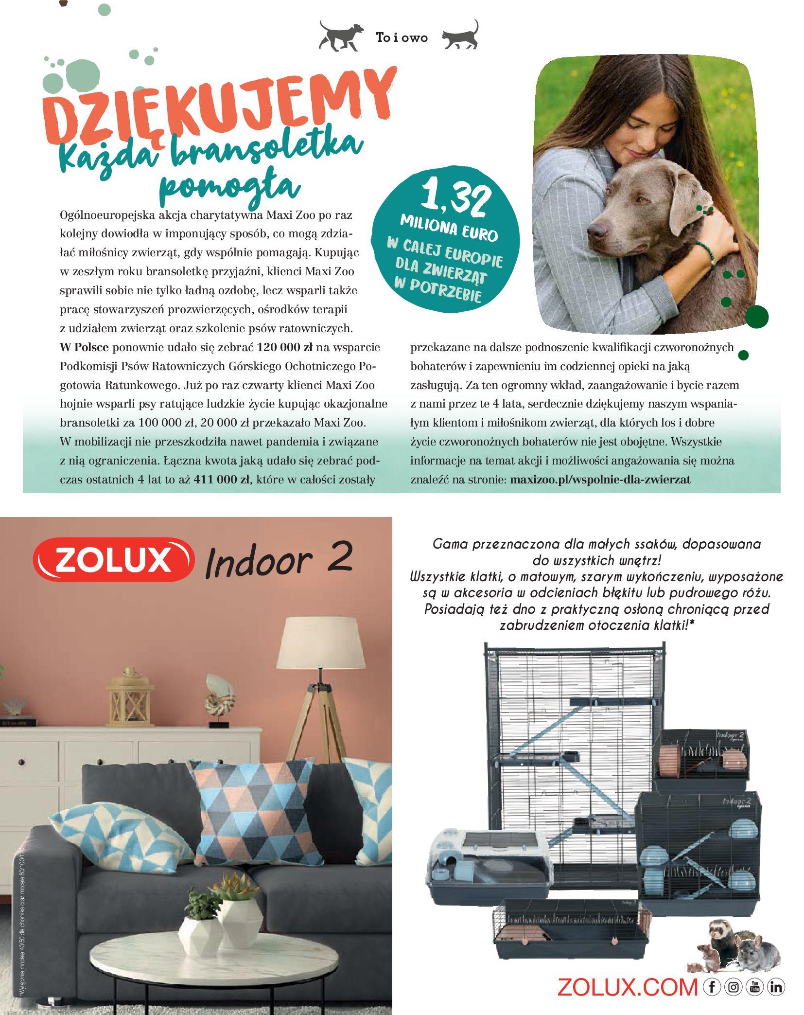 Gazetka Maxi Zoo: Gazetka Maxi Zoo - Friends 2021-05-18 page-9