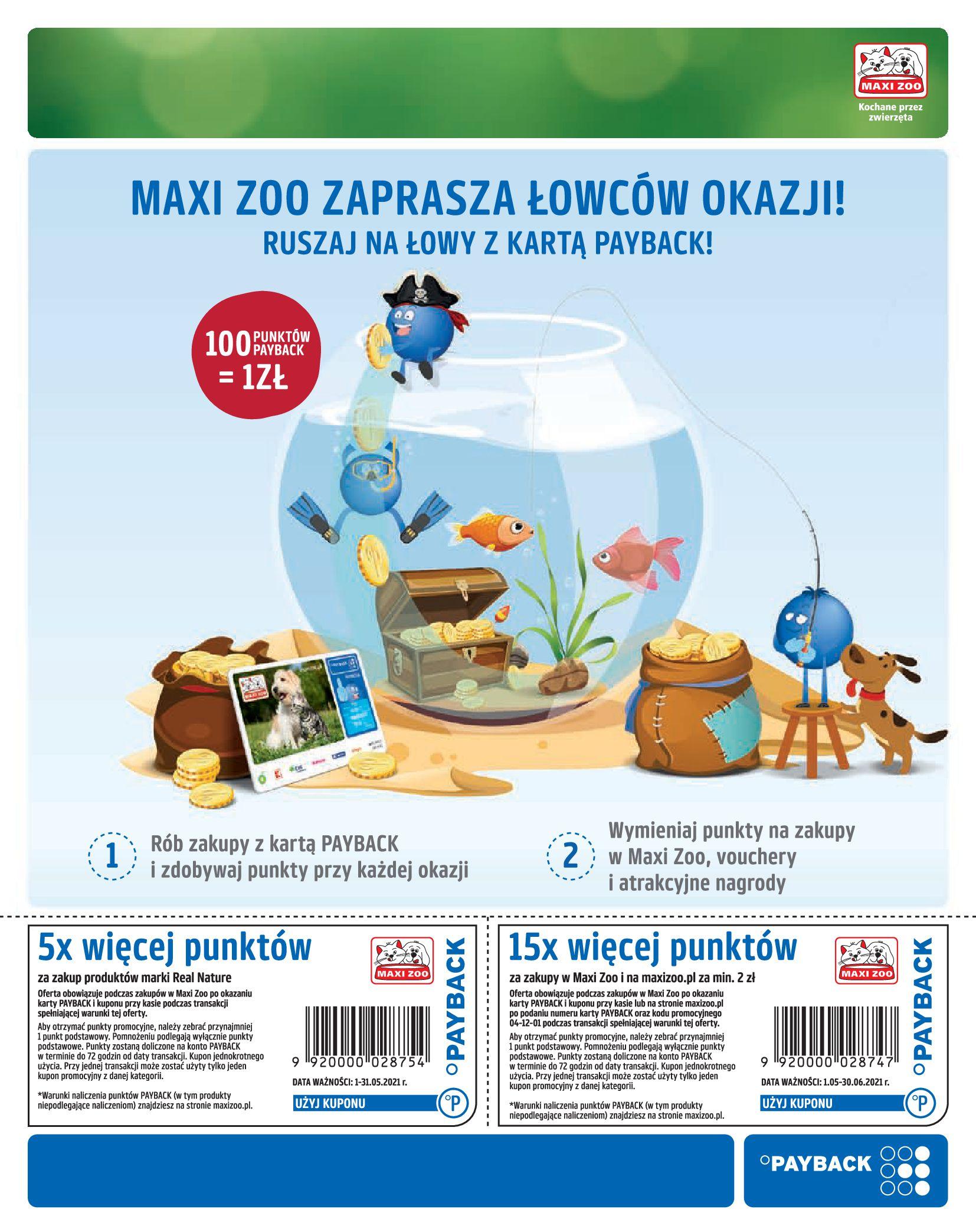 Gazetka Maxi Zoo: Gazetka Maxi Zoo - Friends 2021-05-18 page-21