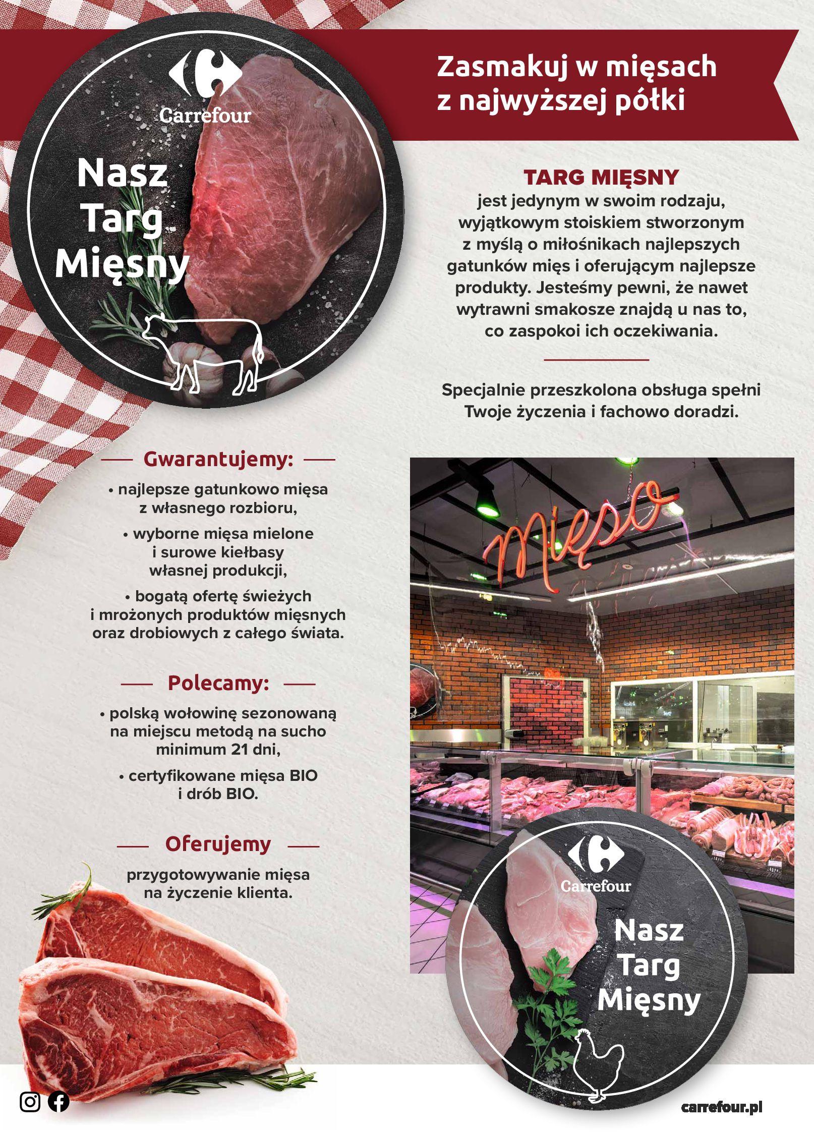Carrefour:  Targi Mięsa - Carrefour 03.01.2021