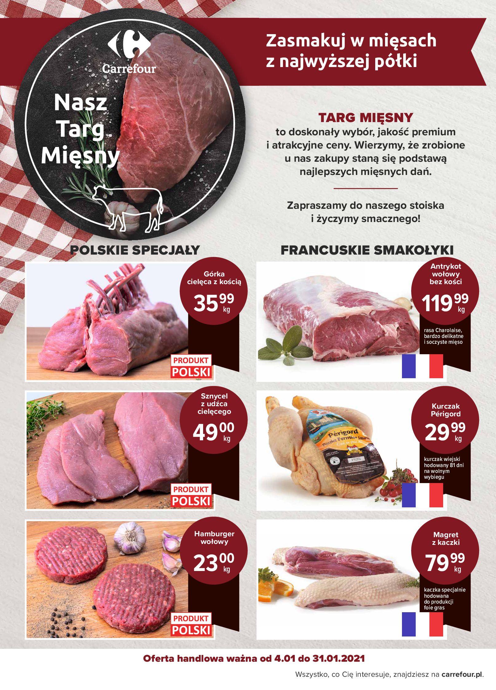 Gazetka Carrefour: Targi Mięsa - Carrefour 2021-01-04 page-2