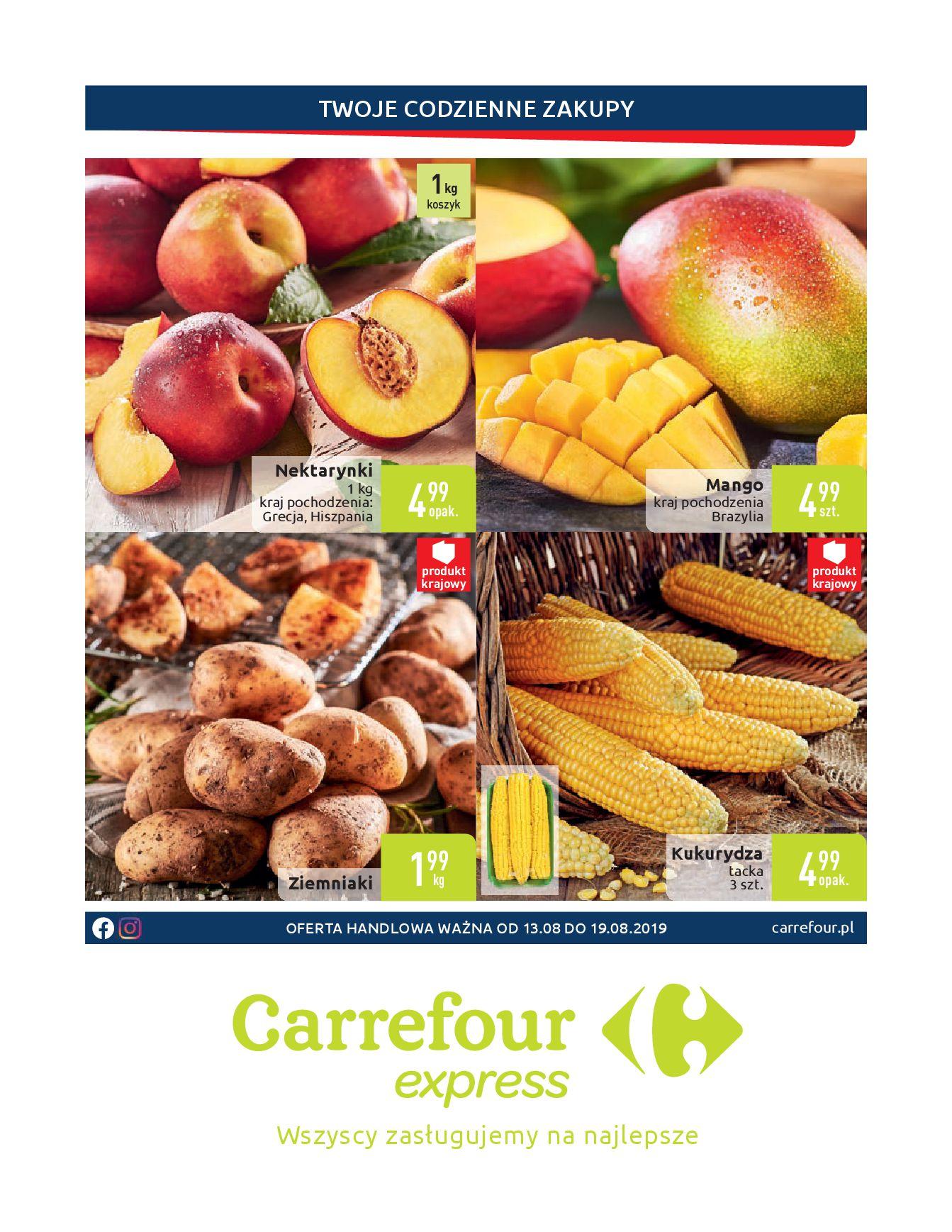 Gazetka Carrefour Express - Twoje codzienne zakupy-12.08.2019-19.08.2019-page-