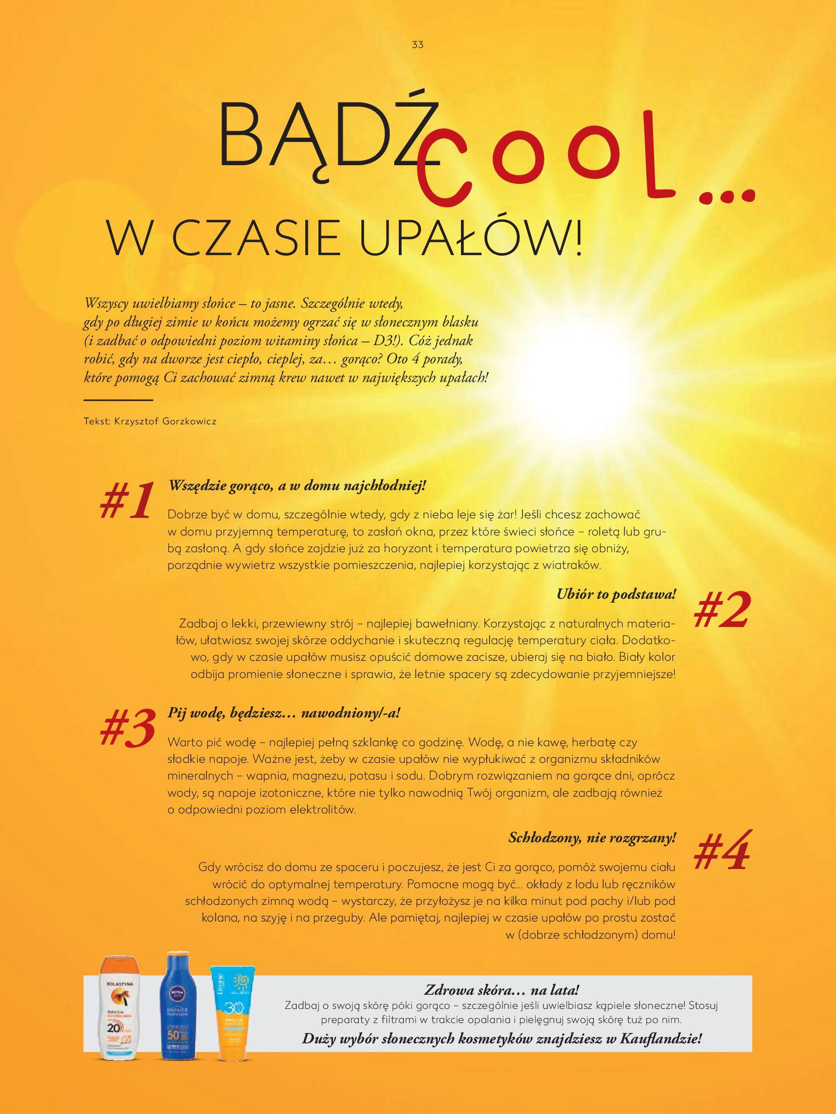 Gazetka Kaufland: Gazetka Kaufland - katalog 2021-05-11 page-33