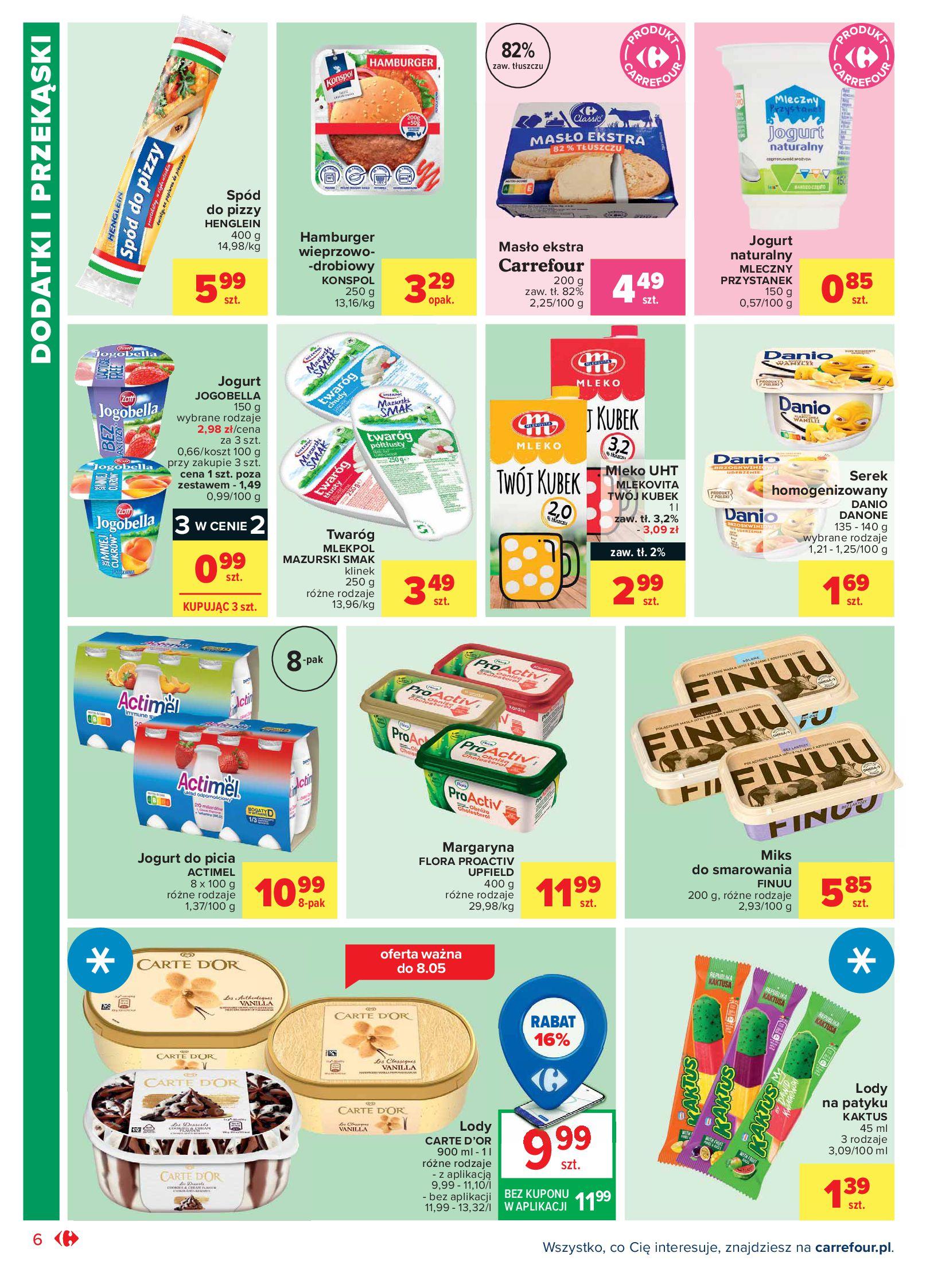 Gazetka Carrefour Market: Oferta handlowa 2021-05-04 page-6