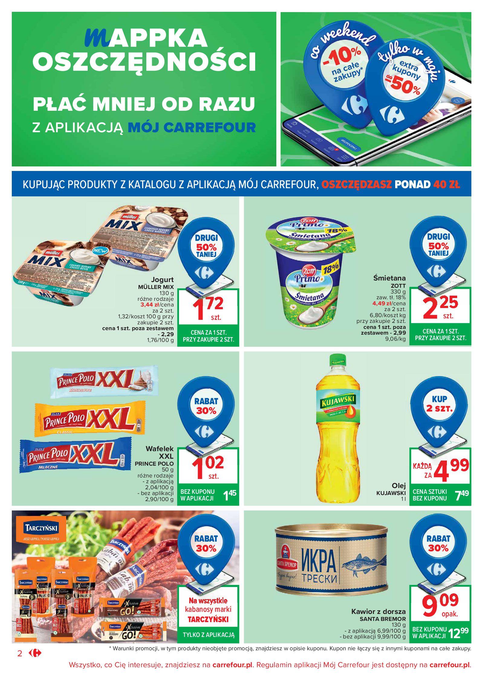 Gazetka Carrefour Market: Oferta handlowa 2021-05-04 page-2
