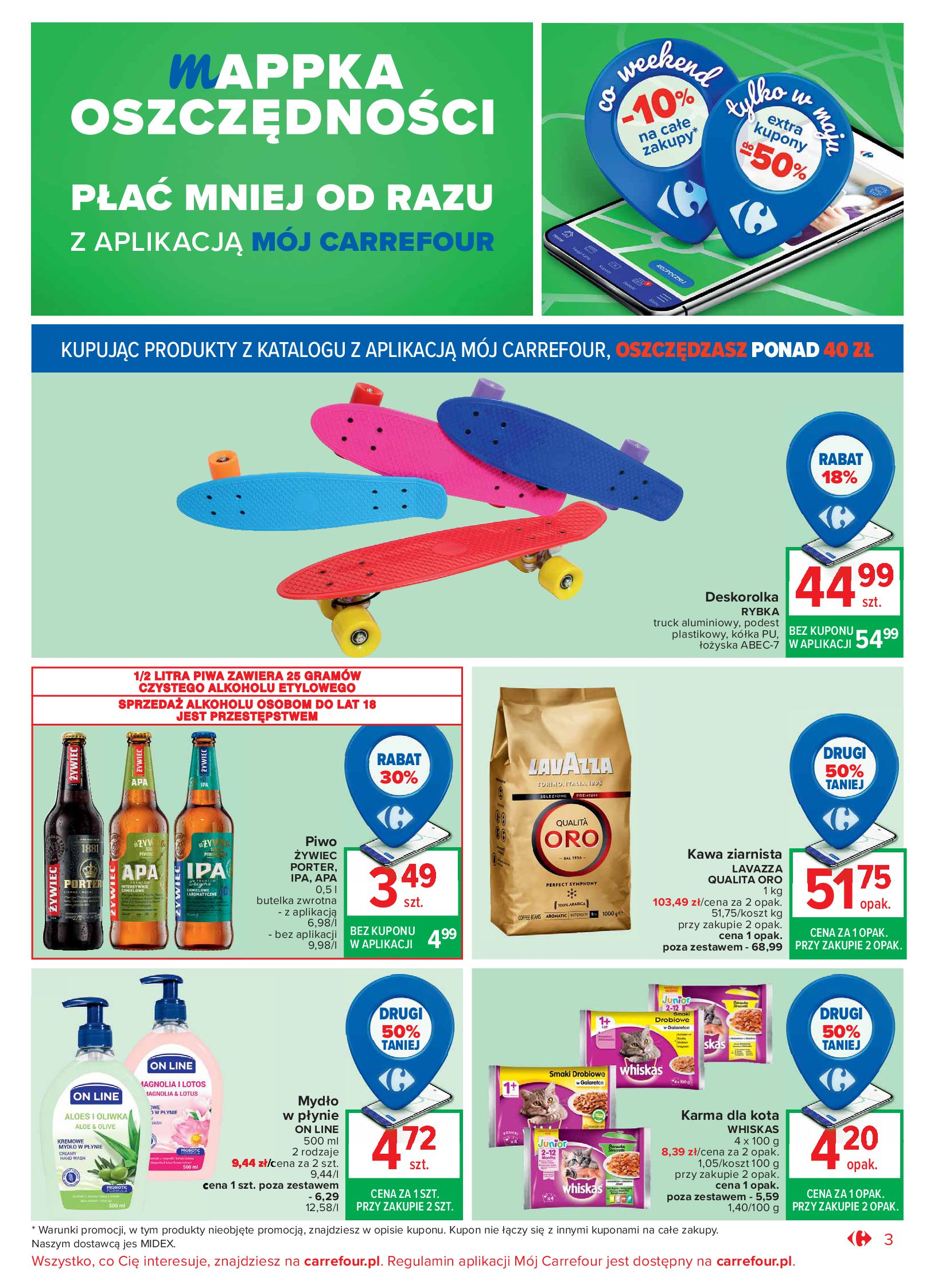 Gazetka Carrefour Market: Oferta handlowa 2021-05-04 page-3