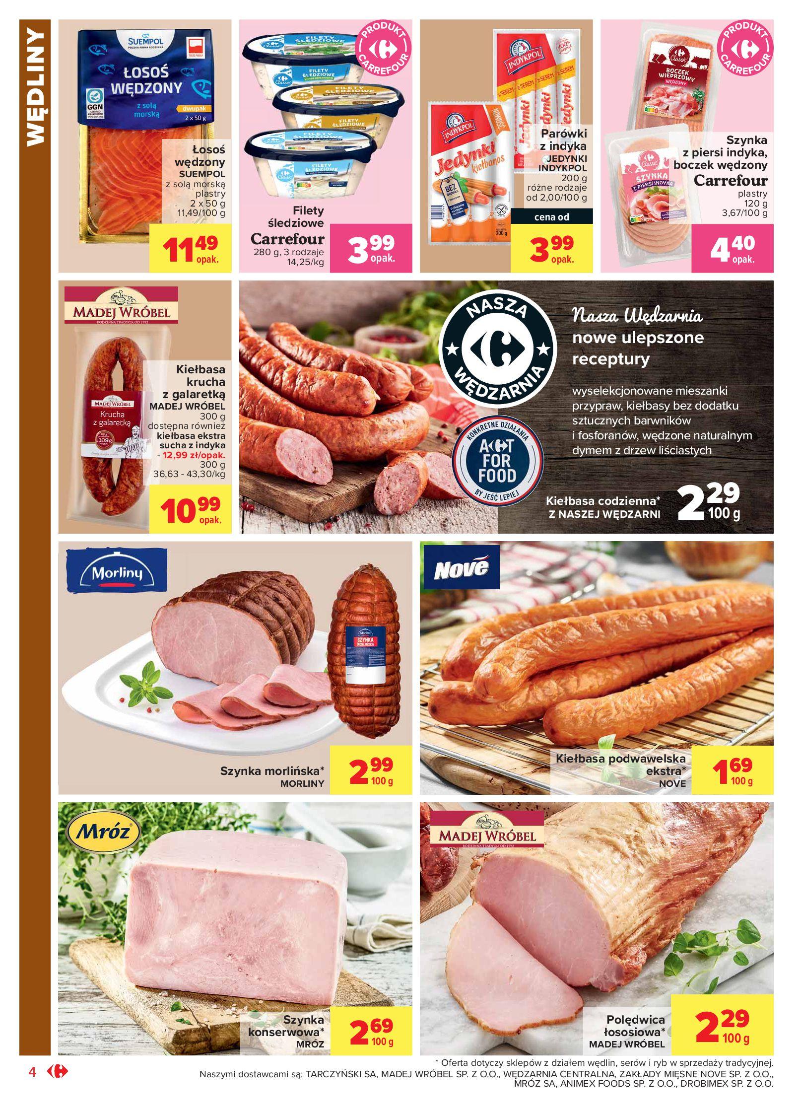 Gazetka Carrefour Market: Oferta handlowa 2021-05-04 page-4