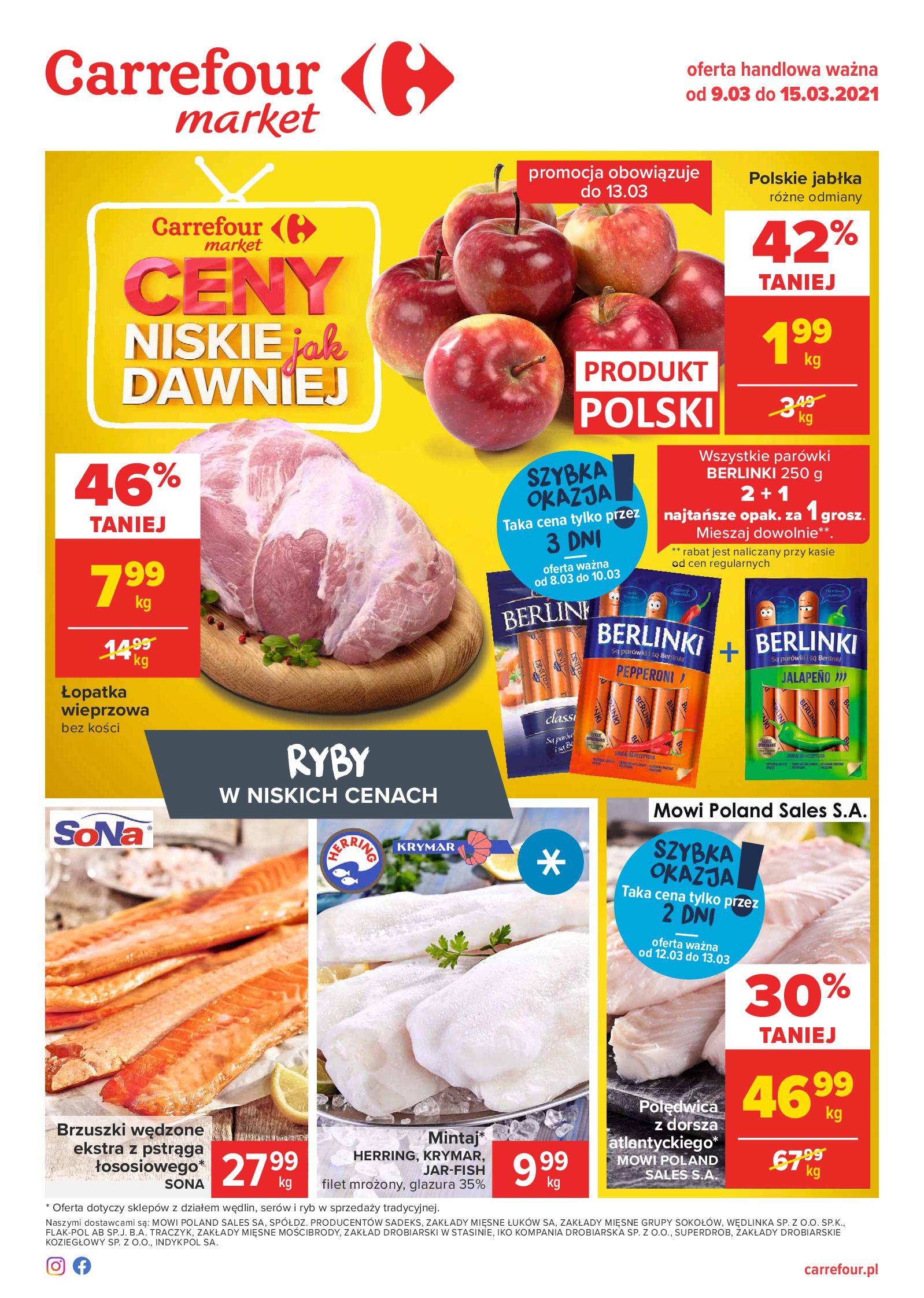 Carrefour Market:  Gazetka Market 08.03.2021