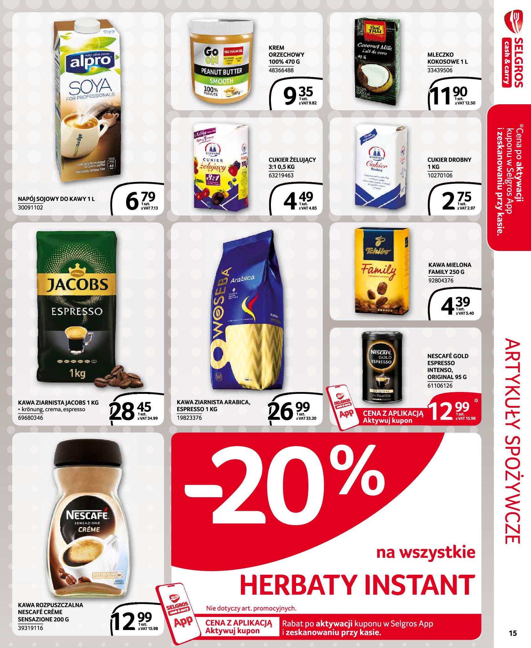 Gazetka Selgros - Oferta handlowa-29.07.2020-12.08.2020-page-15
