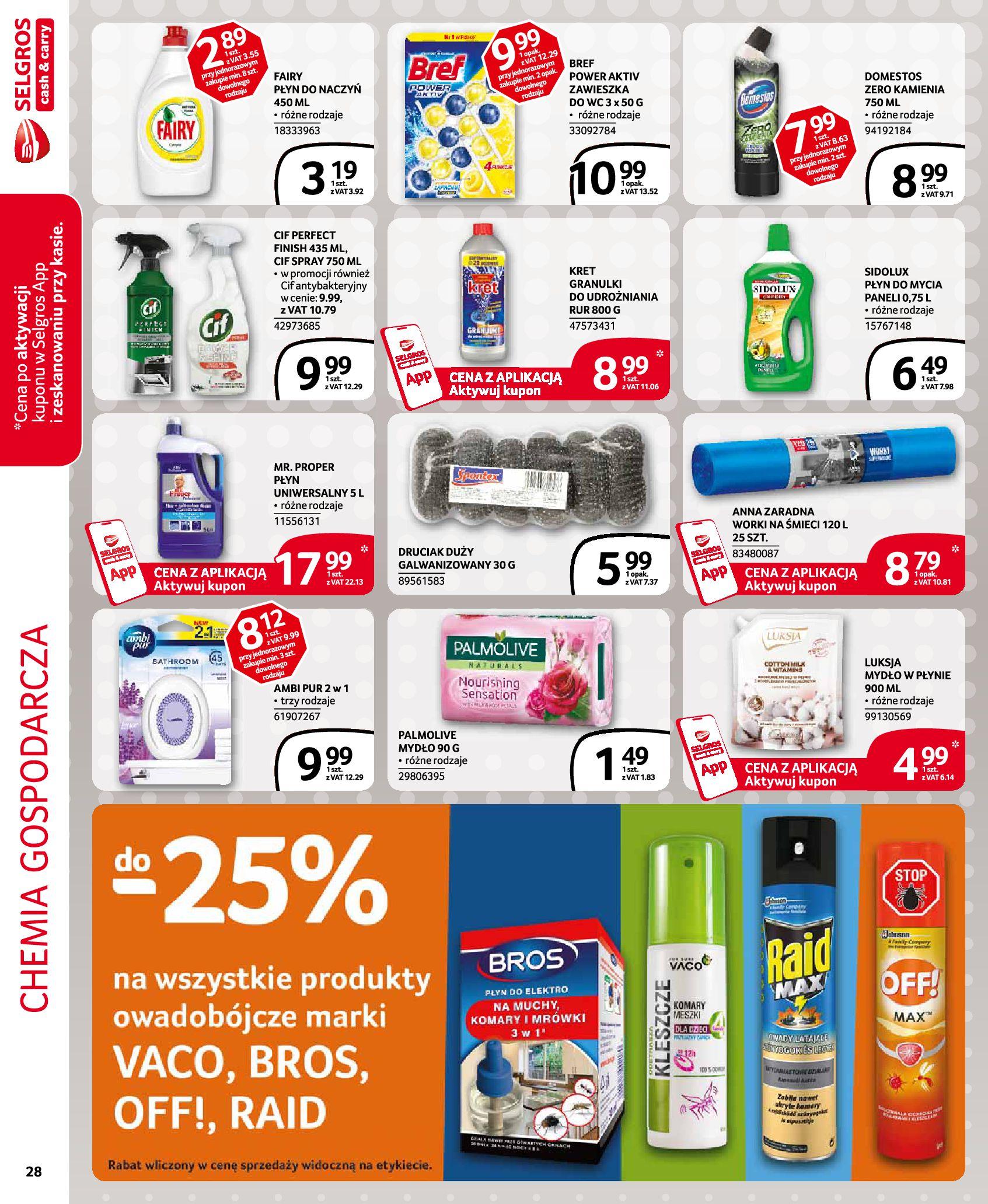 Gazetka Selgros - Oferta handlowa-29.07.2020-12.08.2020-page-28