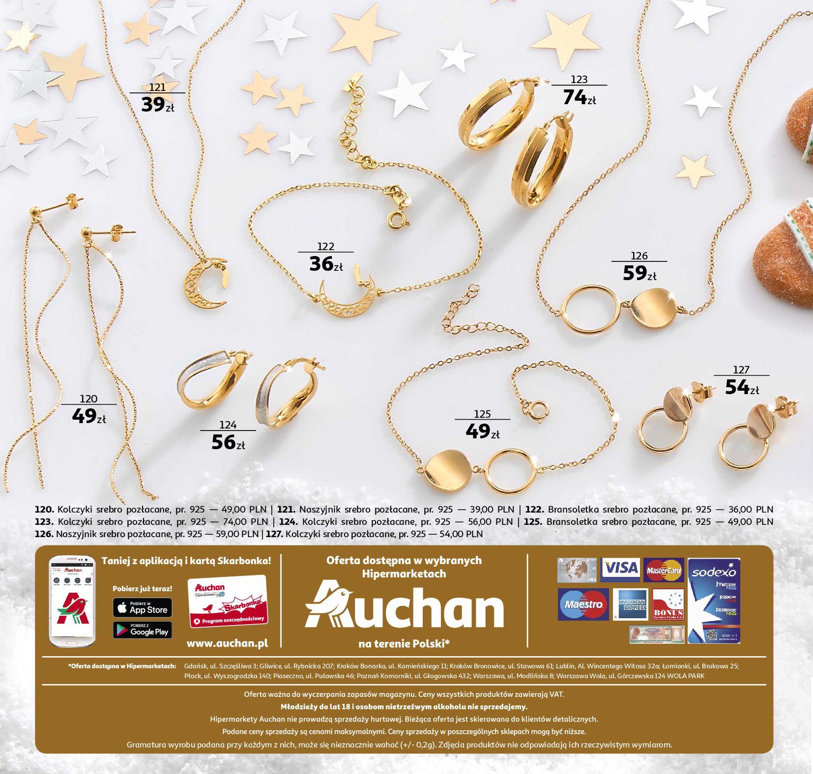 Gazetka Auchan - Biżuteria-19.11.2019-31.12.2019-page-12
