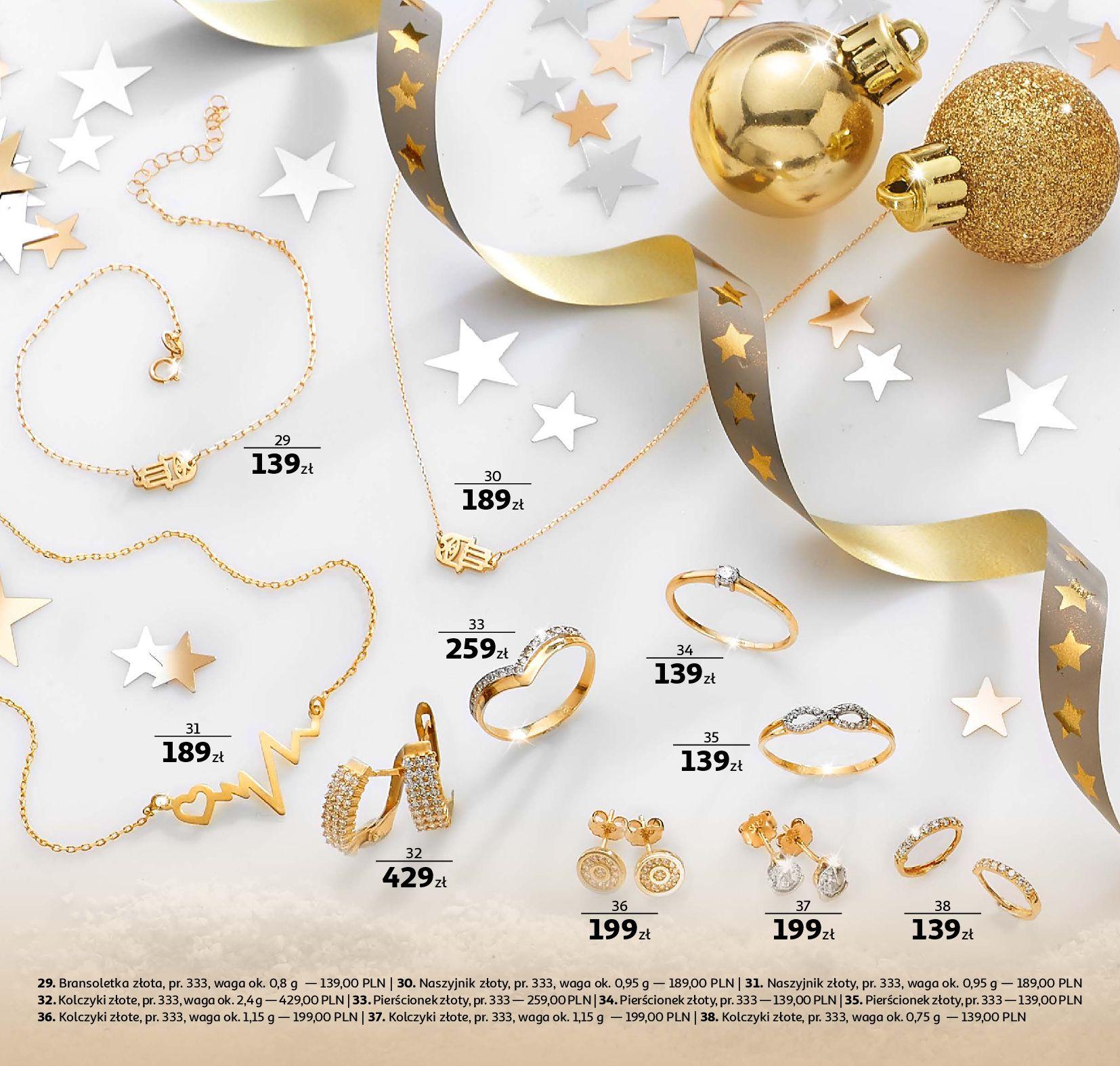 Gazetka Auchan - Biżuteria-19.11.2019-31.12.2019-page-4