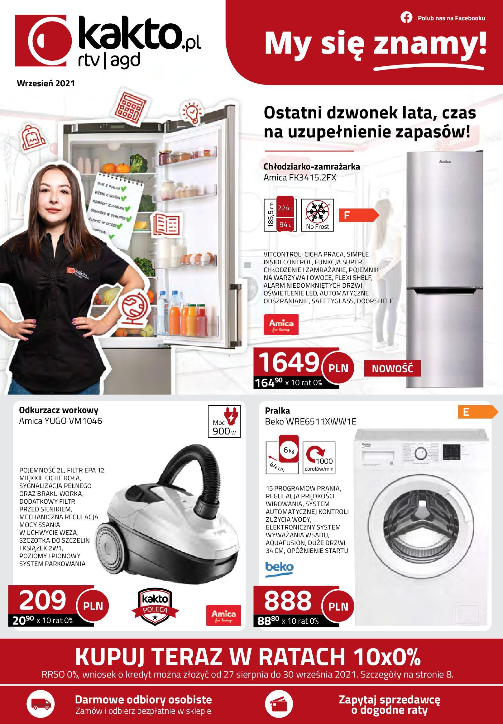 Gazetka kakto.pl: Gazetka kakto.pl 2021-09-01 page-1