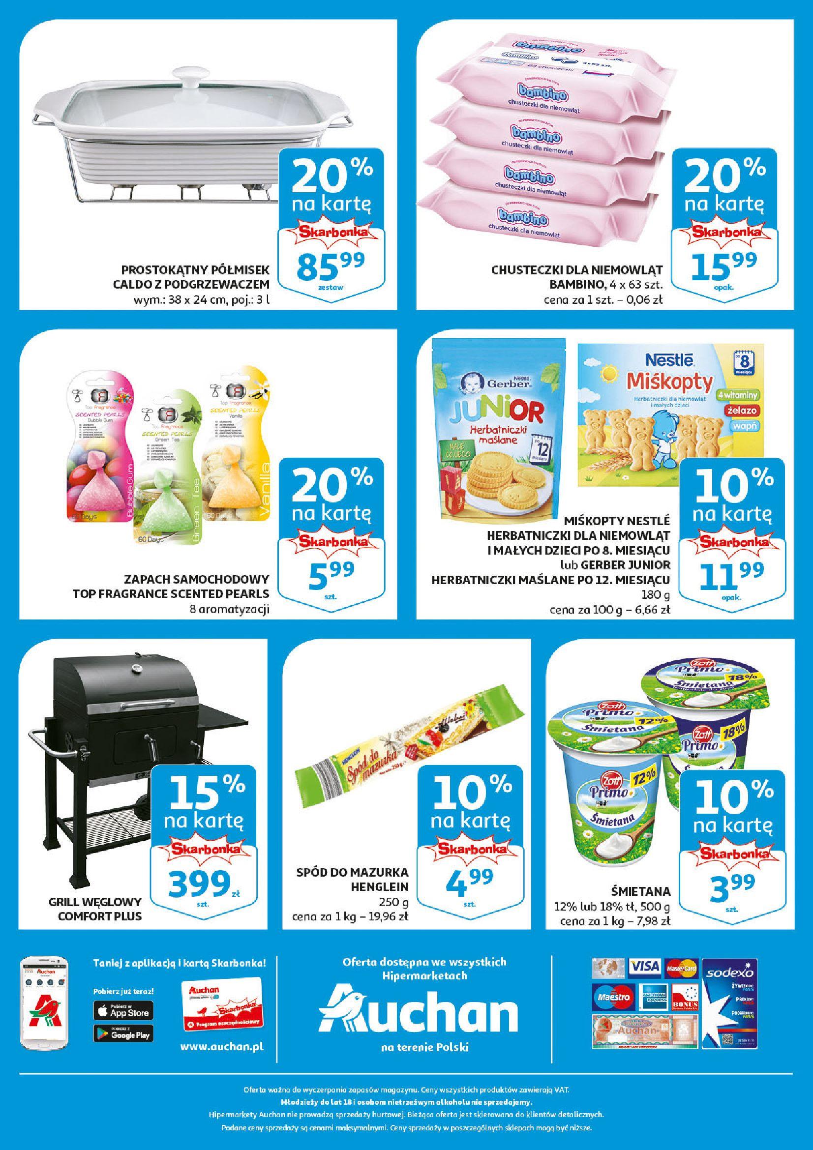 Gazetka Auchan - Aktualna oferta skarbonka Hipermarkety-16.04.2019-25.04.2019-page-