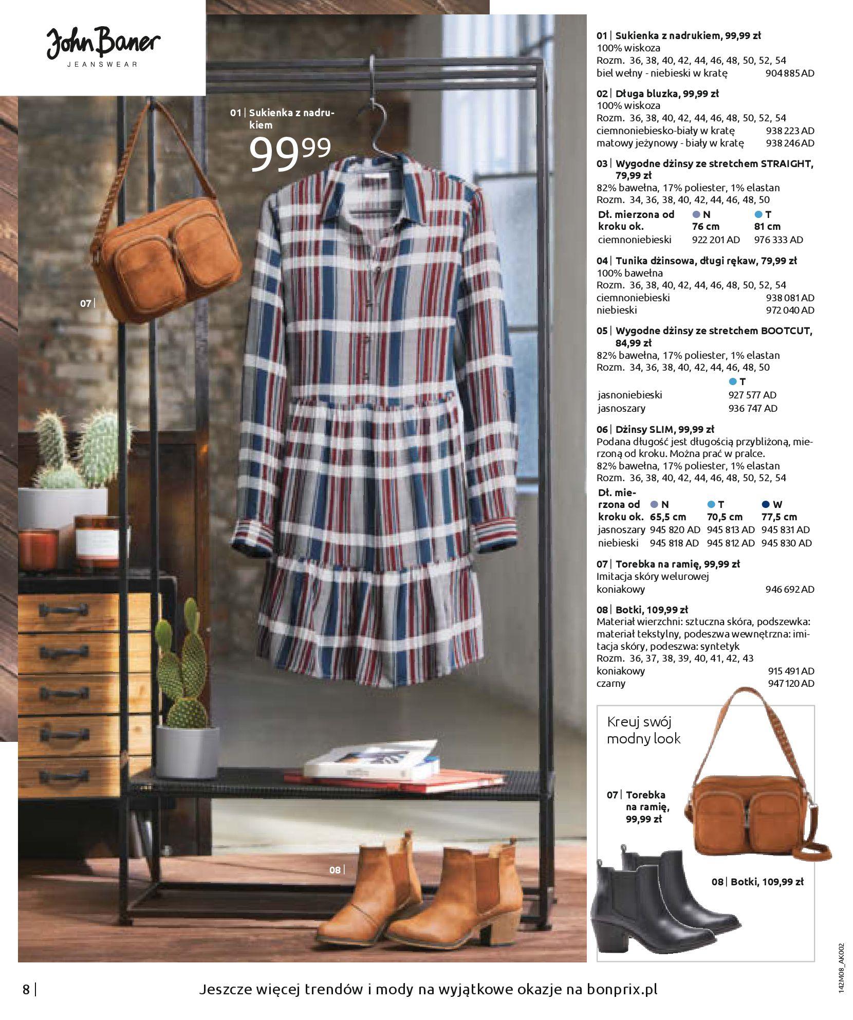 Gazetka Bonprix - Hity dżinsowej mody!-25.08.2020-10.02.2021-page-10
