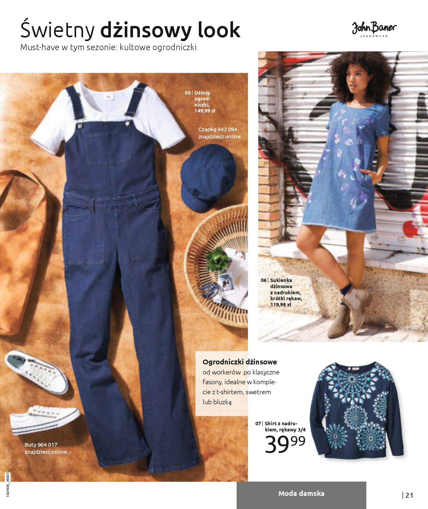 Gazetka Bonprix - Hity dżinsowej mody!-25.08.2020-10.02.2021-page-23